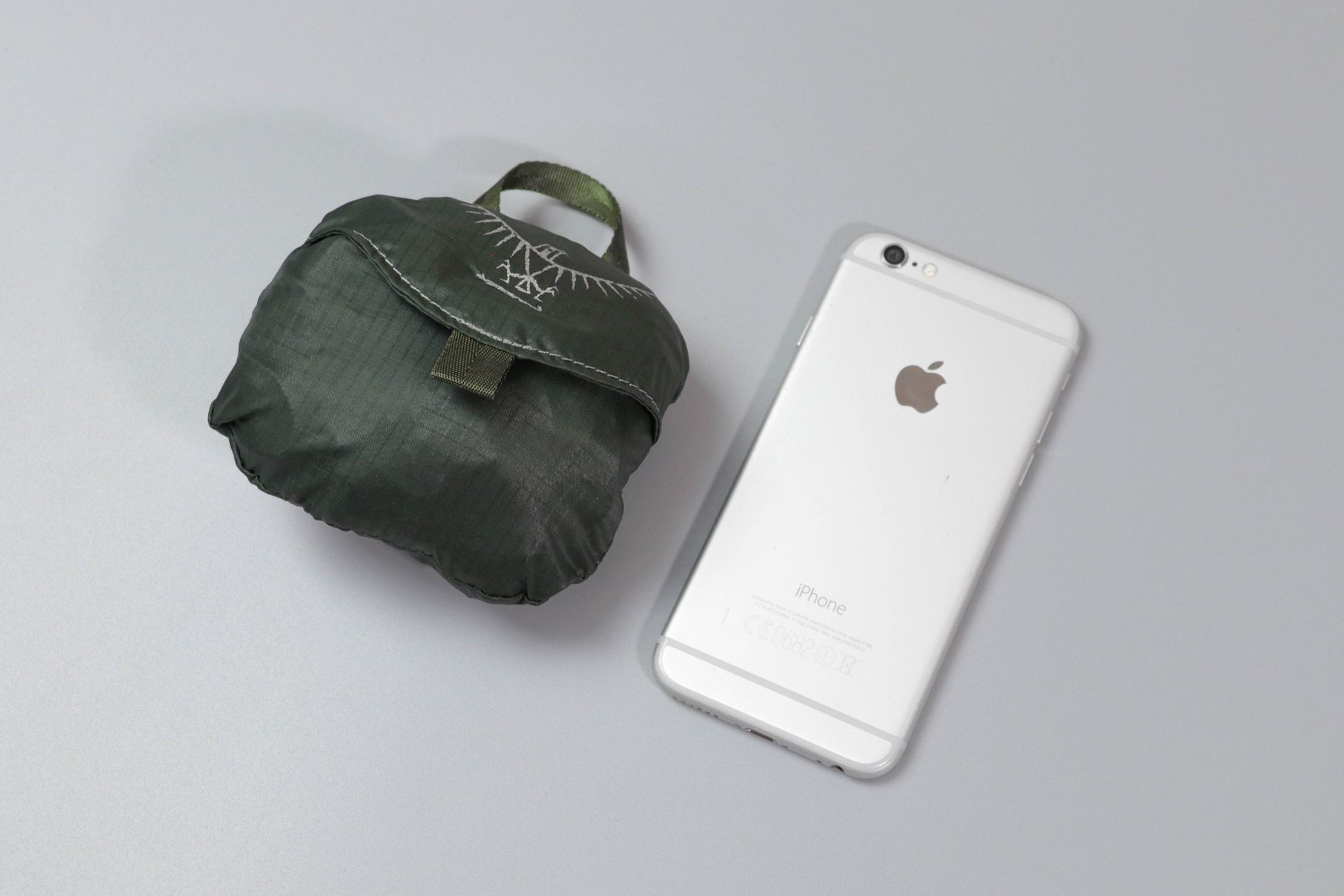Osprey Ultralight Stuff Pack Stuffed With Phone