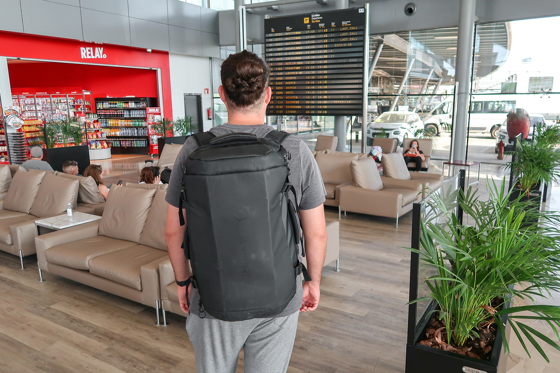 WANDRD HEXAD Carryall Duffel In Valencia Airport