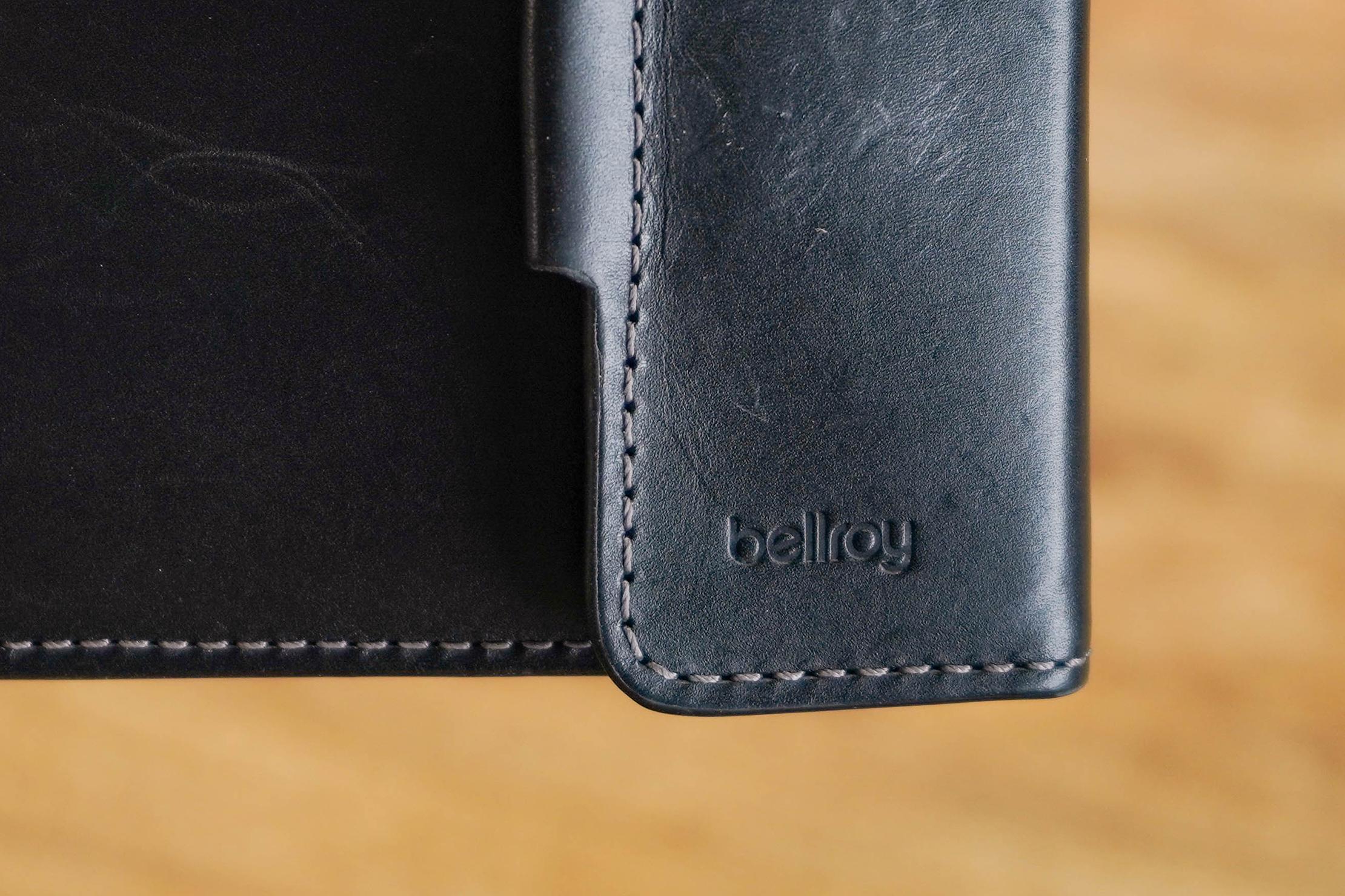 Bellroy Coin Fold Logo