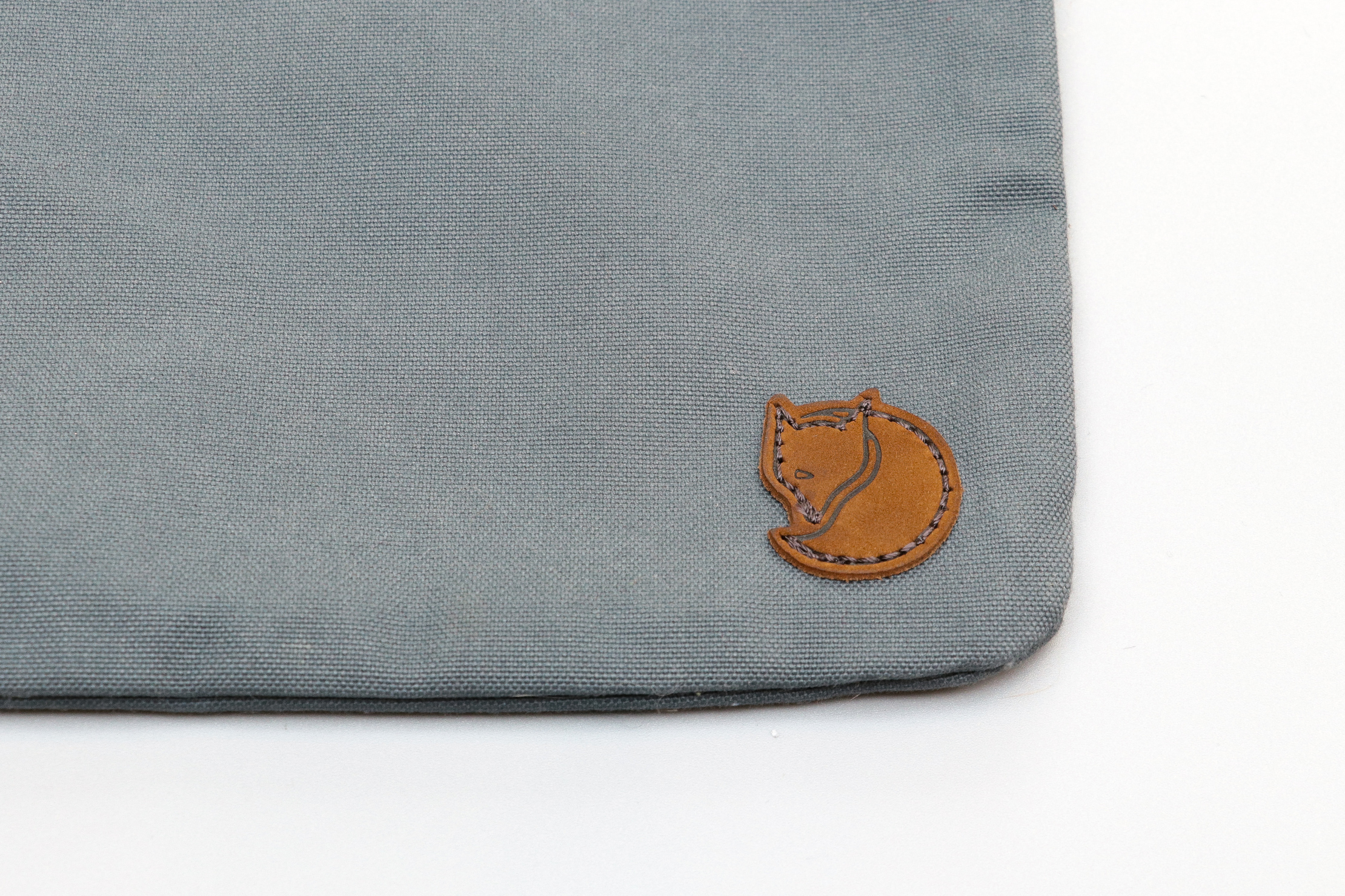 Arctic Fox Logo On The Fjallraven Gear Pocket