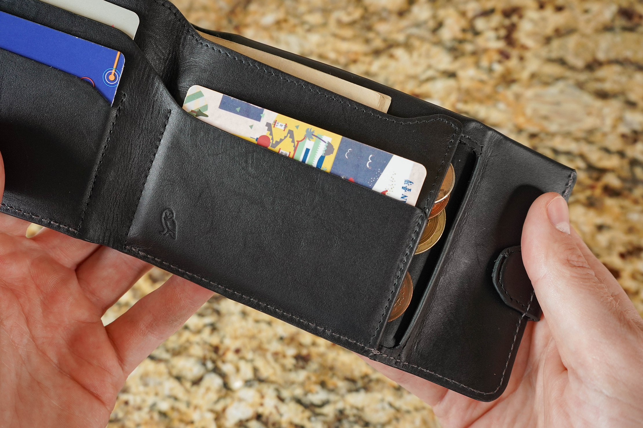 Bellroy Coin Fold Lip