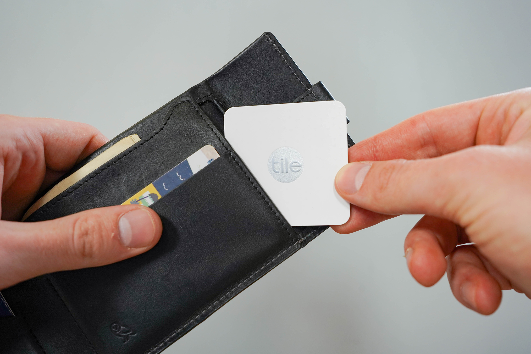 Bellroy Coin Fold With Tile