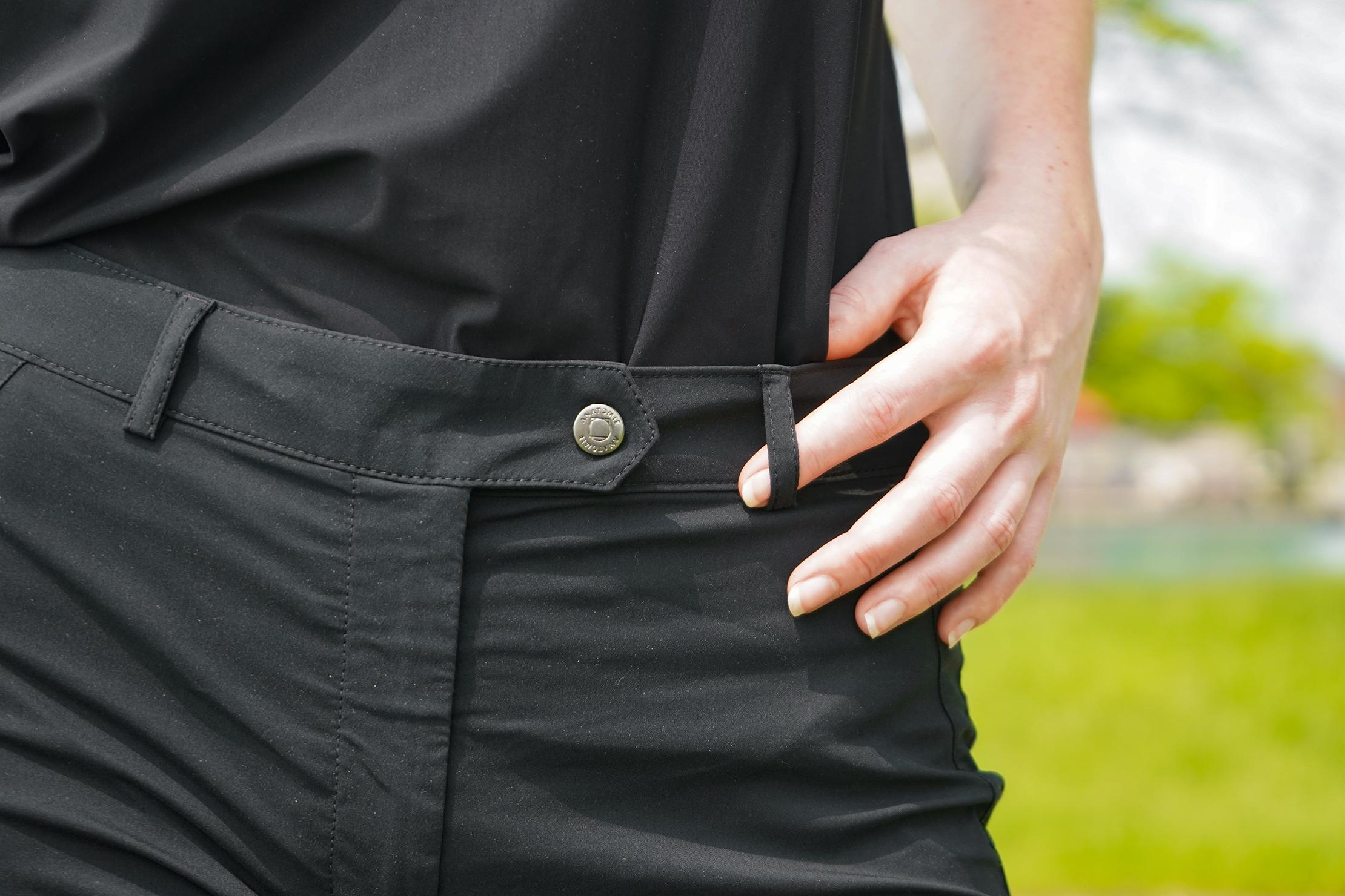 Anatomie Techno Chino Mid Rise Pant Waist Button