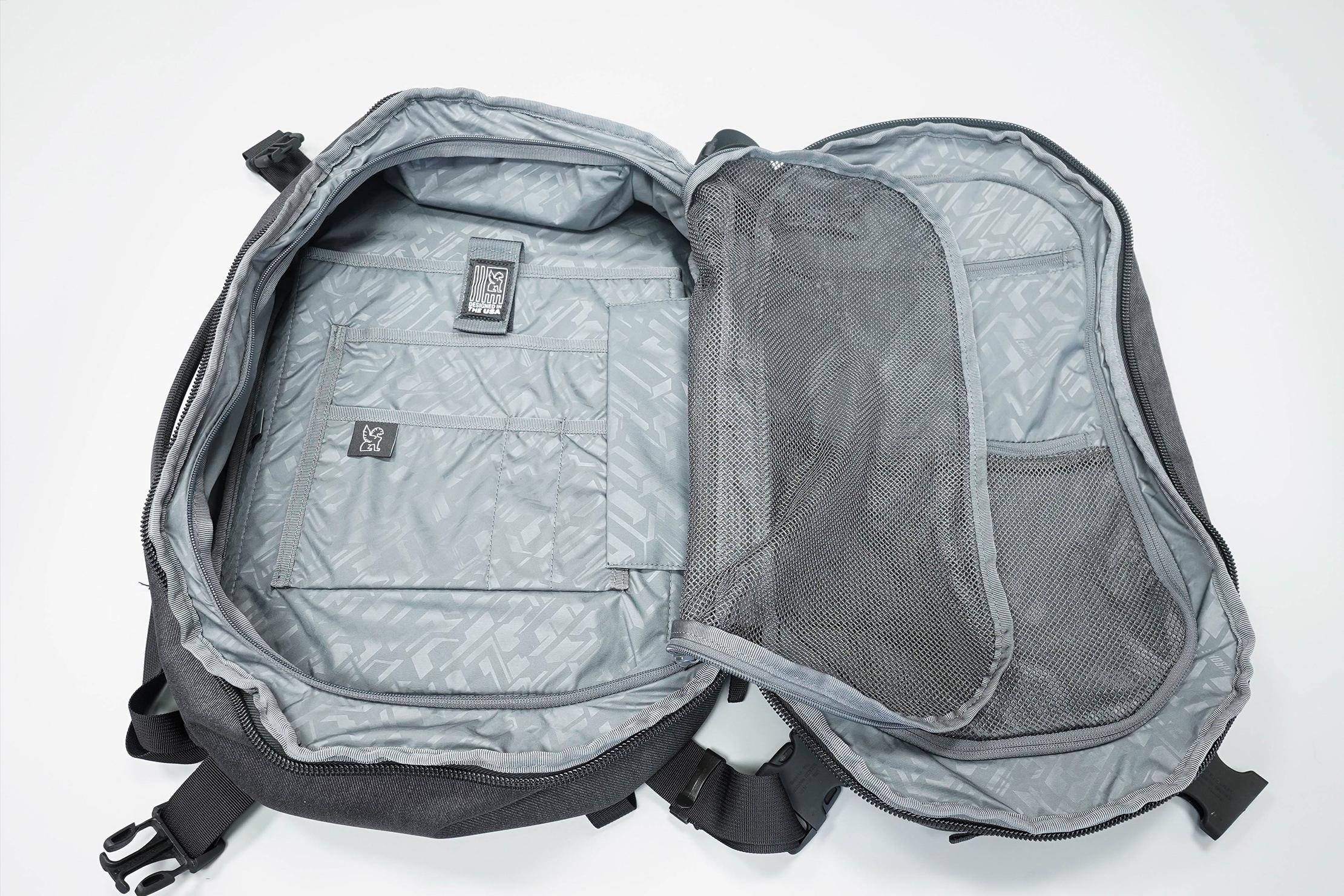 Chrome Summoner Backpack Left Side Open