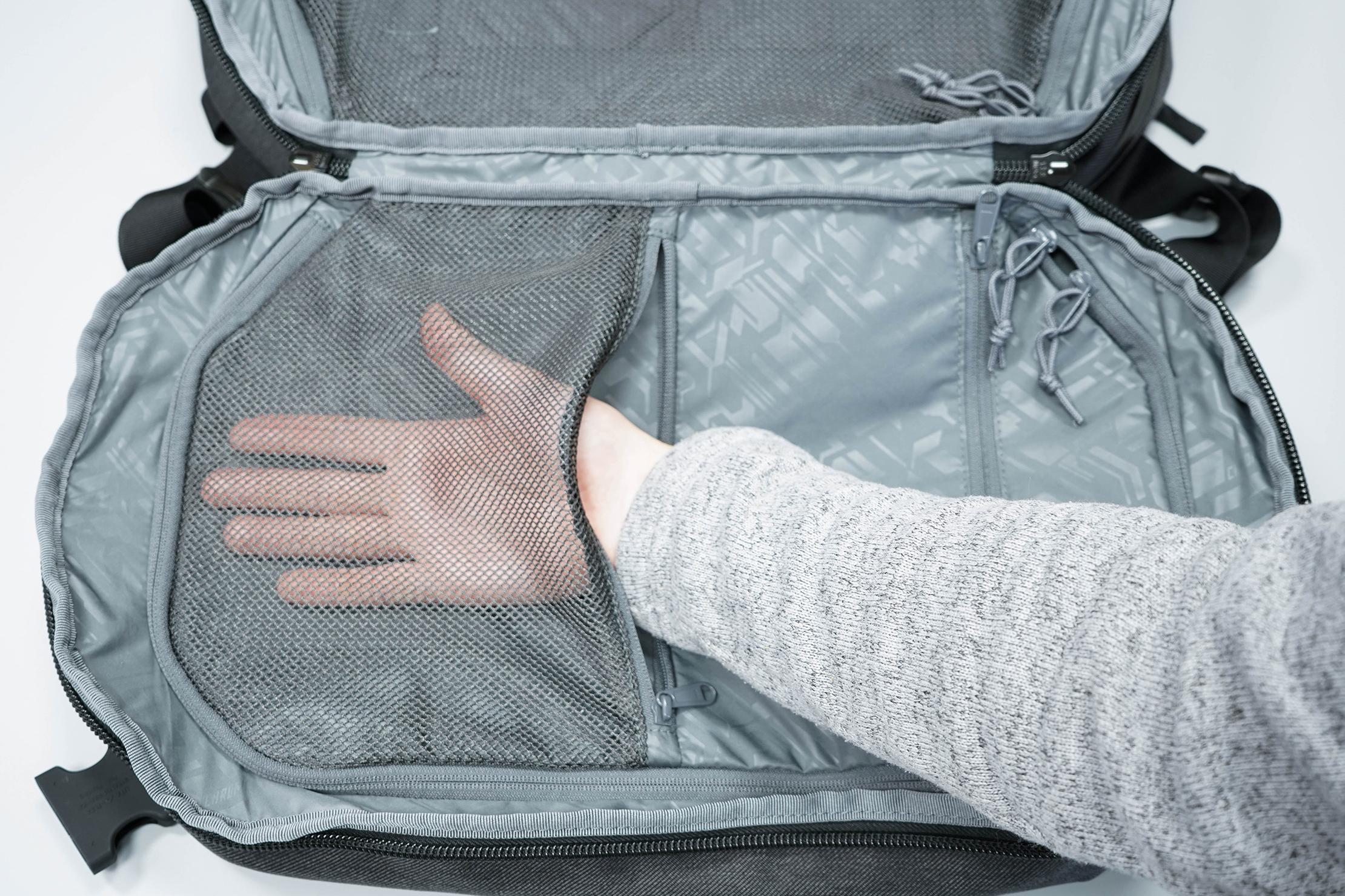 Chrome Summoner Backpack Mesh Pocket