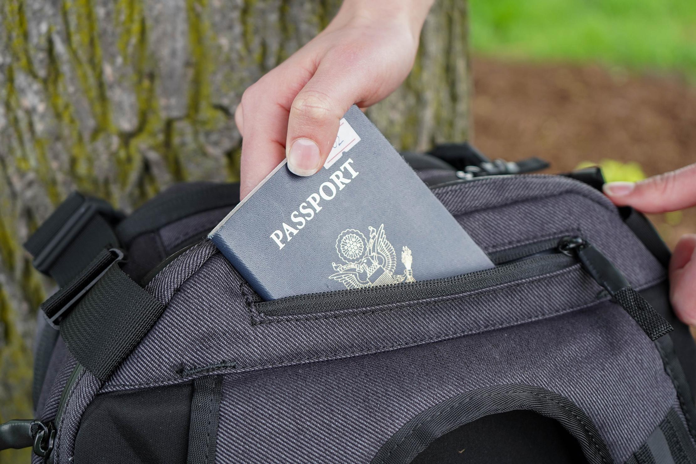 Chrome Summoner Backpack Quickgrab Pocket