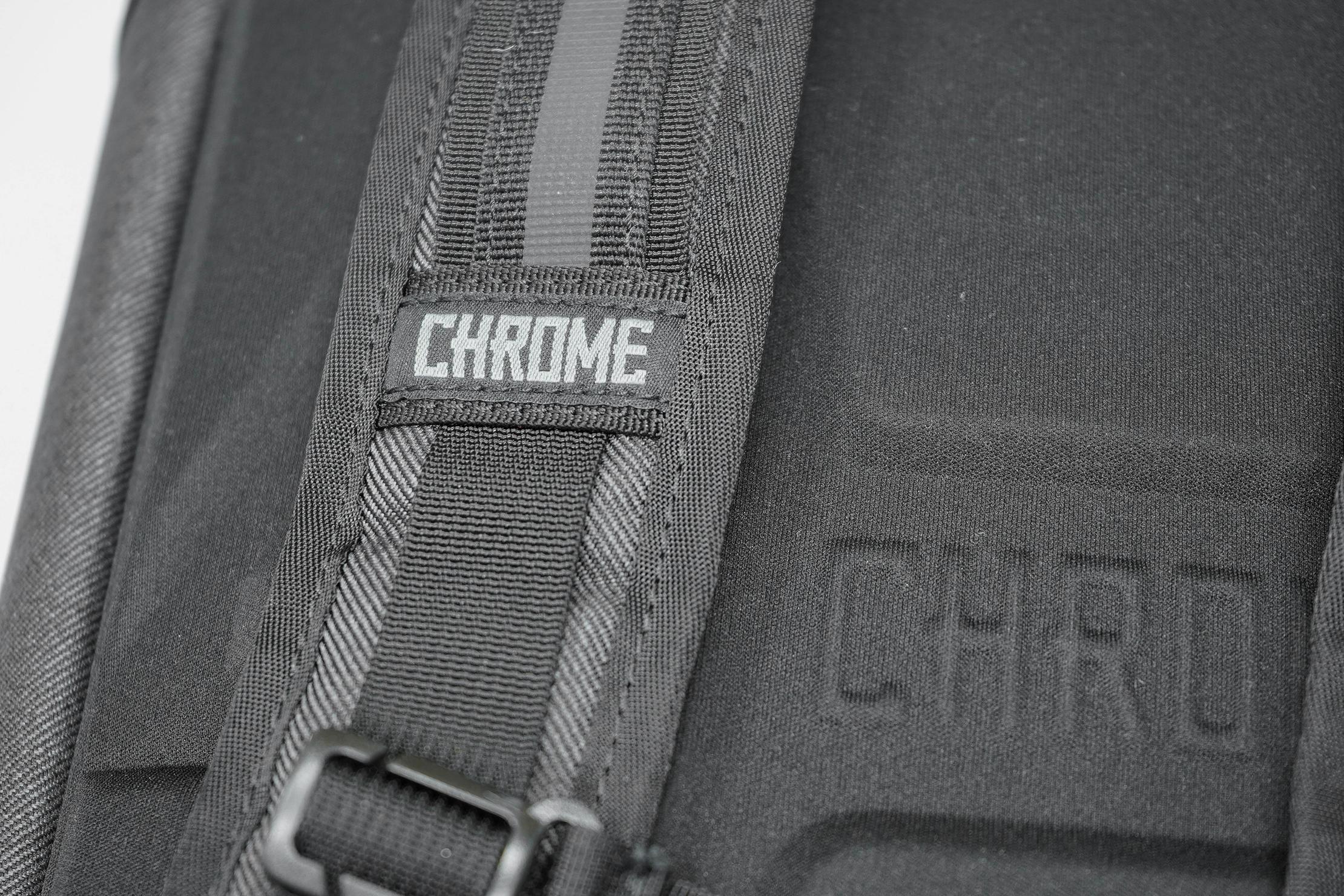 Chrome Summoner Backpack Shoulder Strap Logo