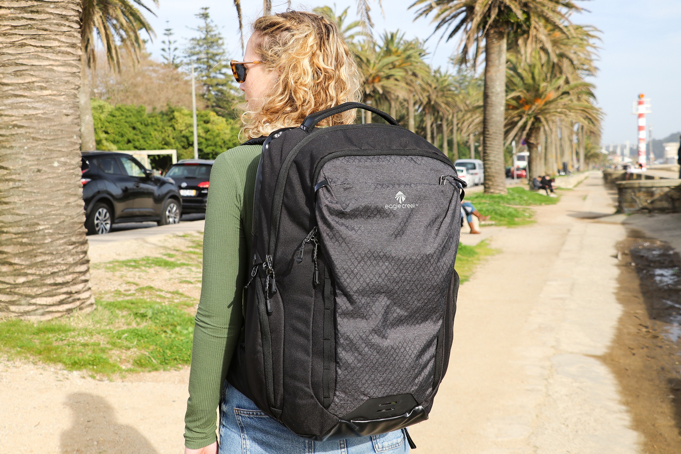 Eagle Creek Wayfinder Backpack 40L Branding