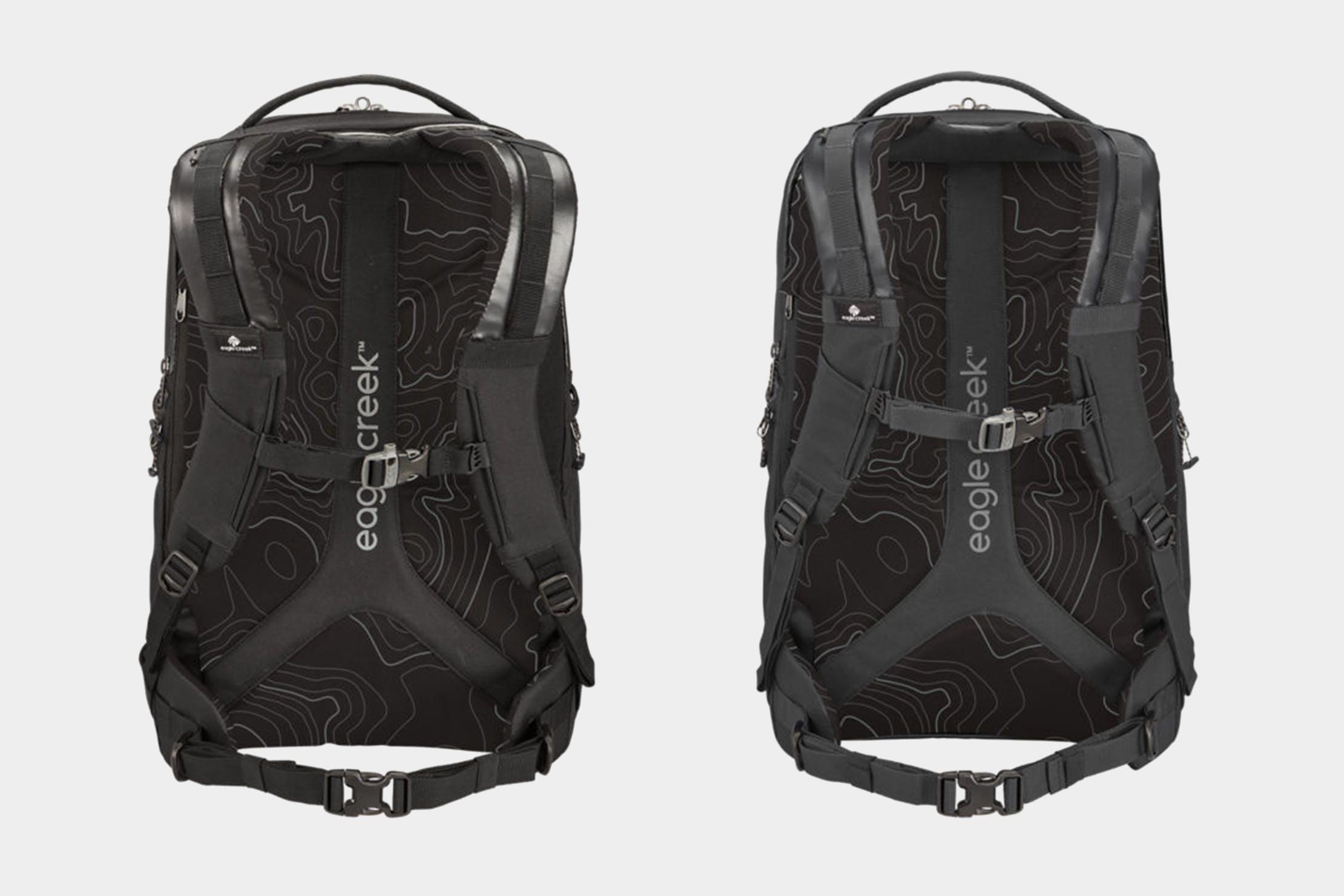 Eagle Creek Wayfinder Backpack 40L Unisex (Left) & Women's (Right) Harness System