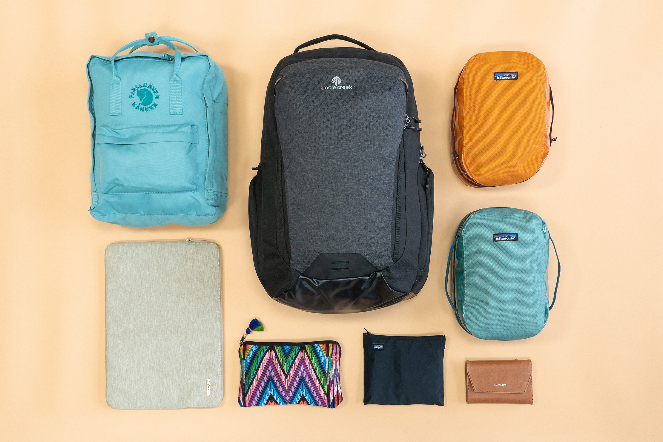Earth Friendly Sustainable Packing List Bags & Organizers