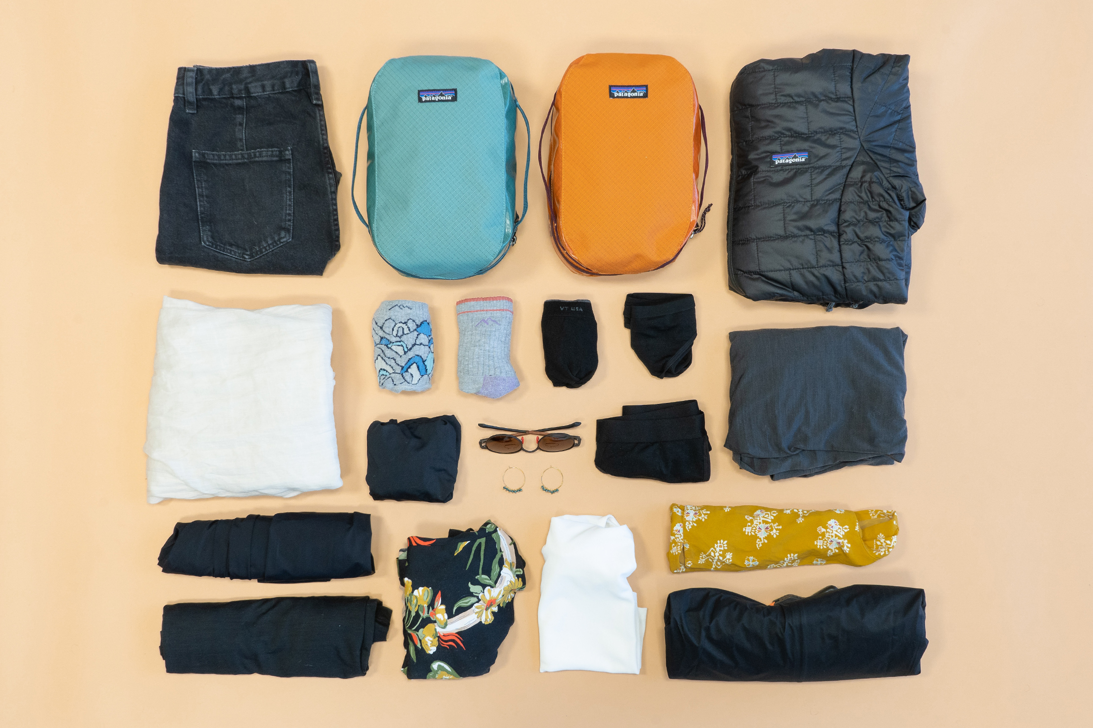 Earth Friendly Sustainable Packing List Clothing & Accessories