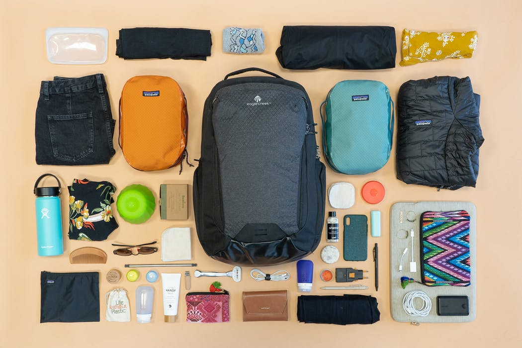 Earth Friendly Sustainable Packing List