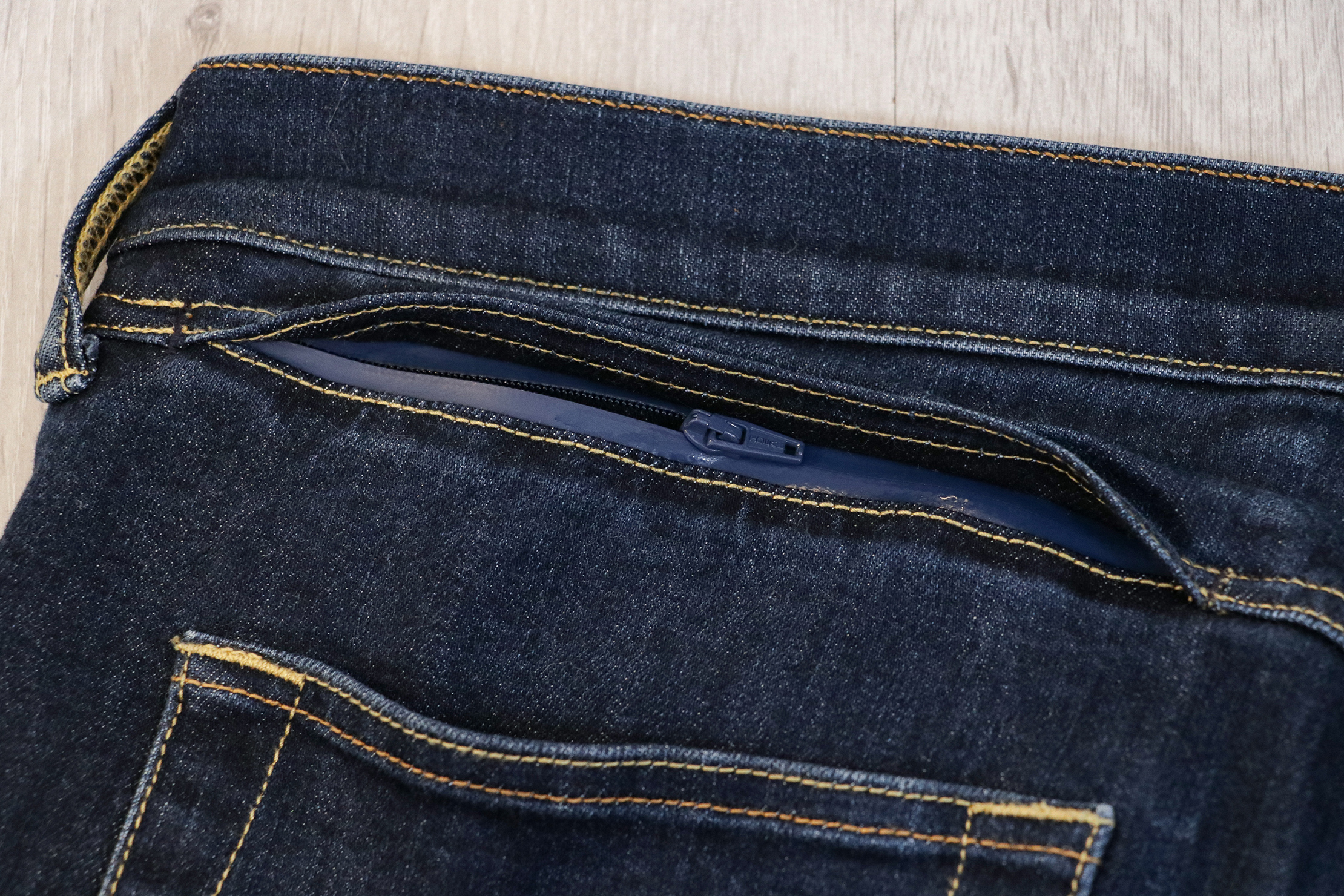 Bluffworks Departure Travel Jeans Secret Pocket