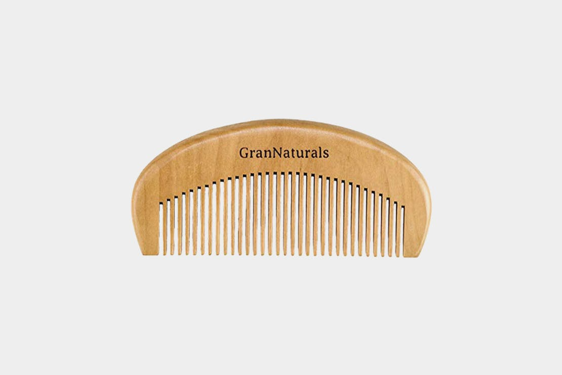 GranNaturals Wooden Hair Comb