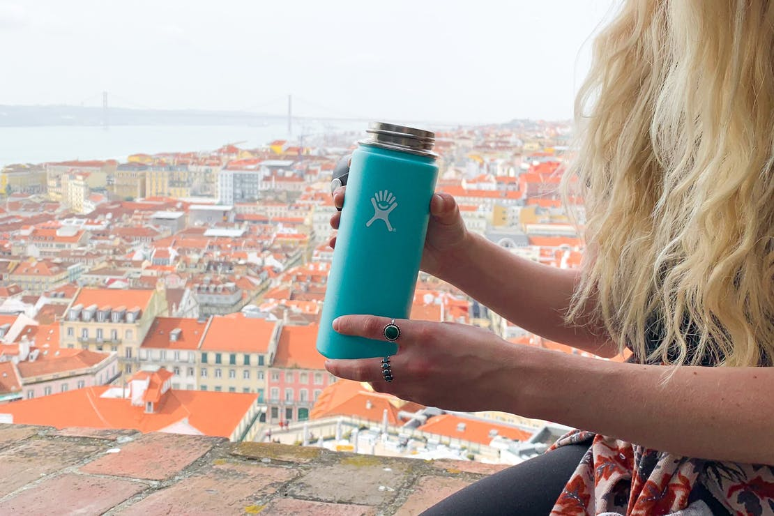 Hydro Flask 18 oz Wide Mouth Bottle In Portugal