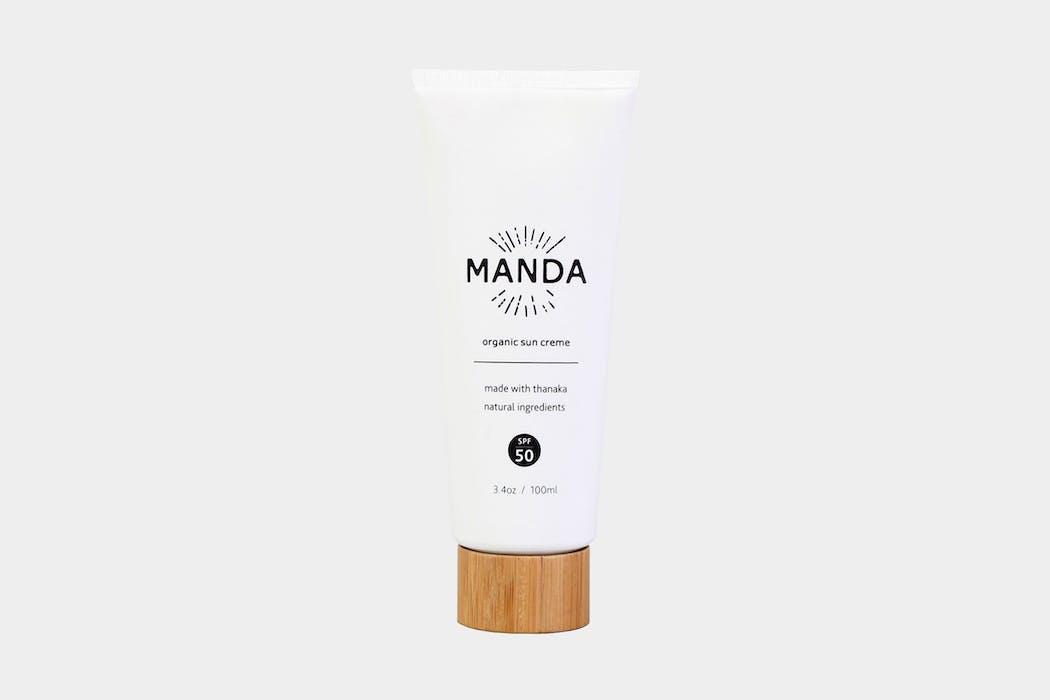 MANDA Organic Sun Creme