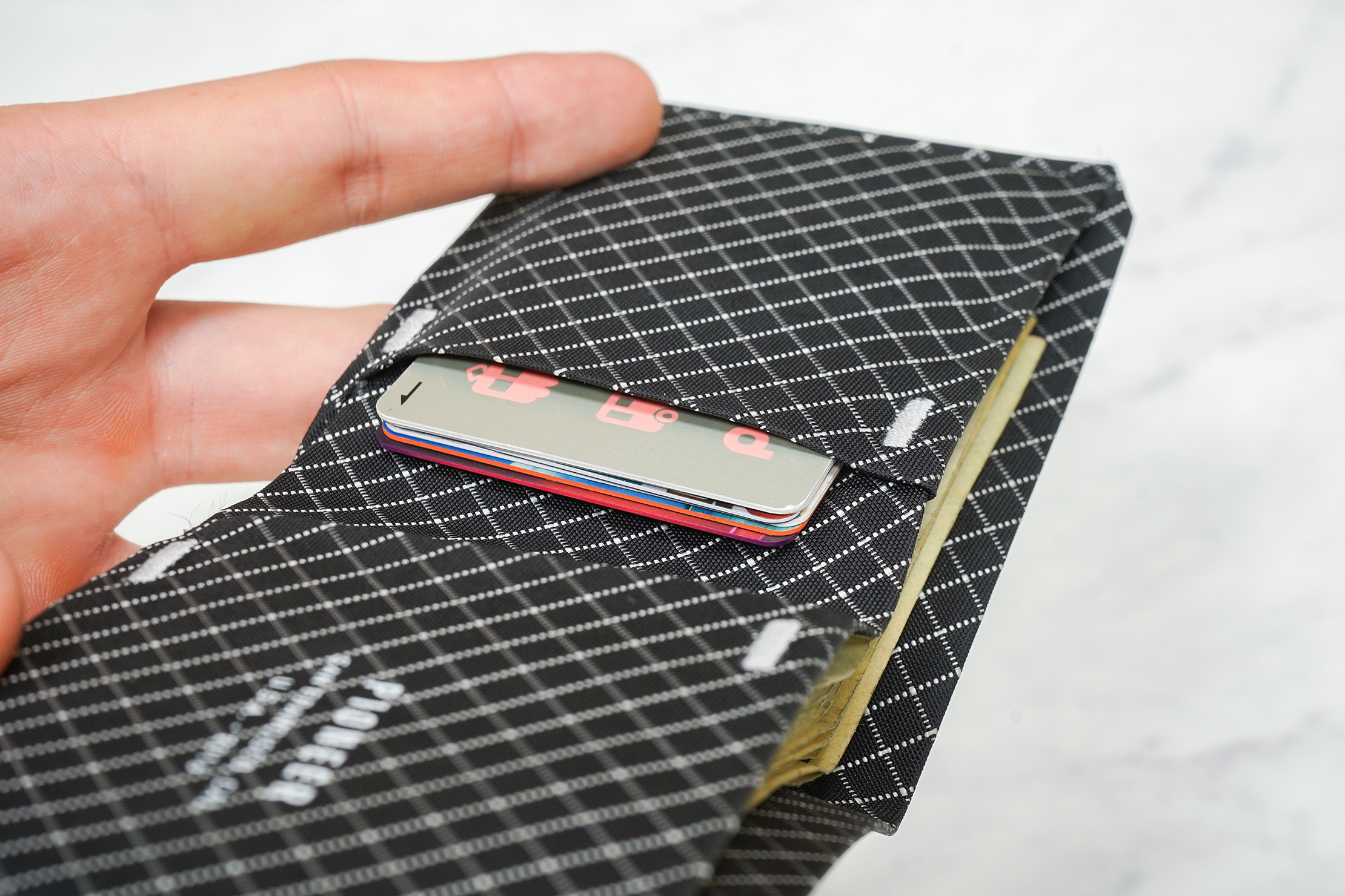 Pioneer Flyfold Wallet With Six Cards In The Card Sleeve