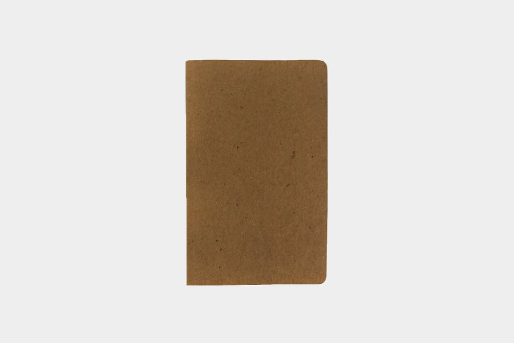 Package Free Recycled Paper Notebook