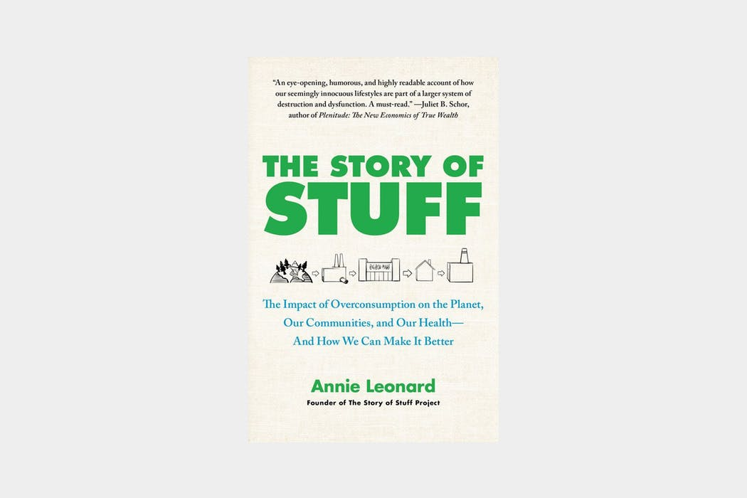 The Story of Stuff Paperback Book