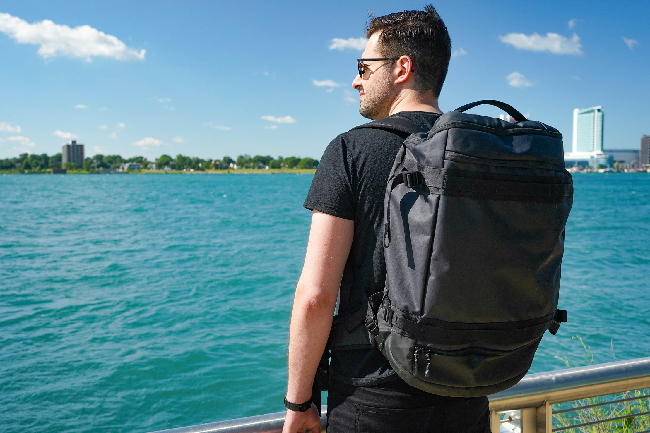 Timbuk2 Impulse Travel Backpack Duffel in Detroit