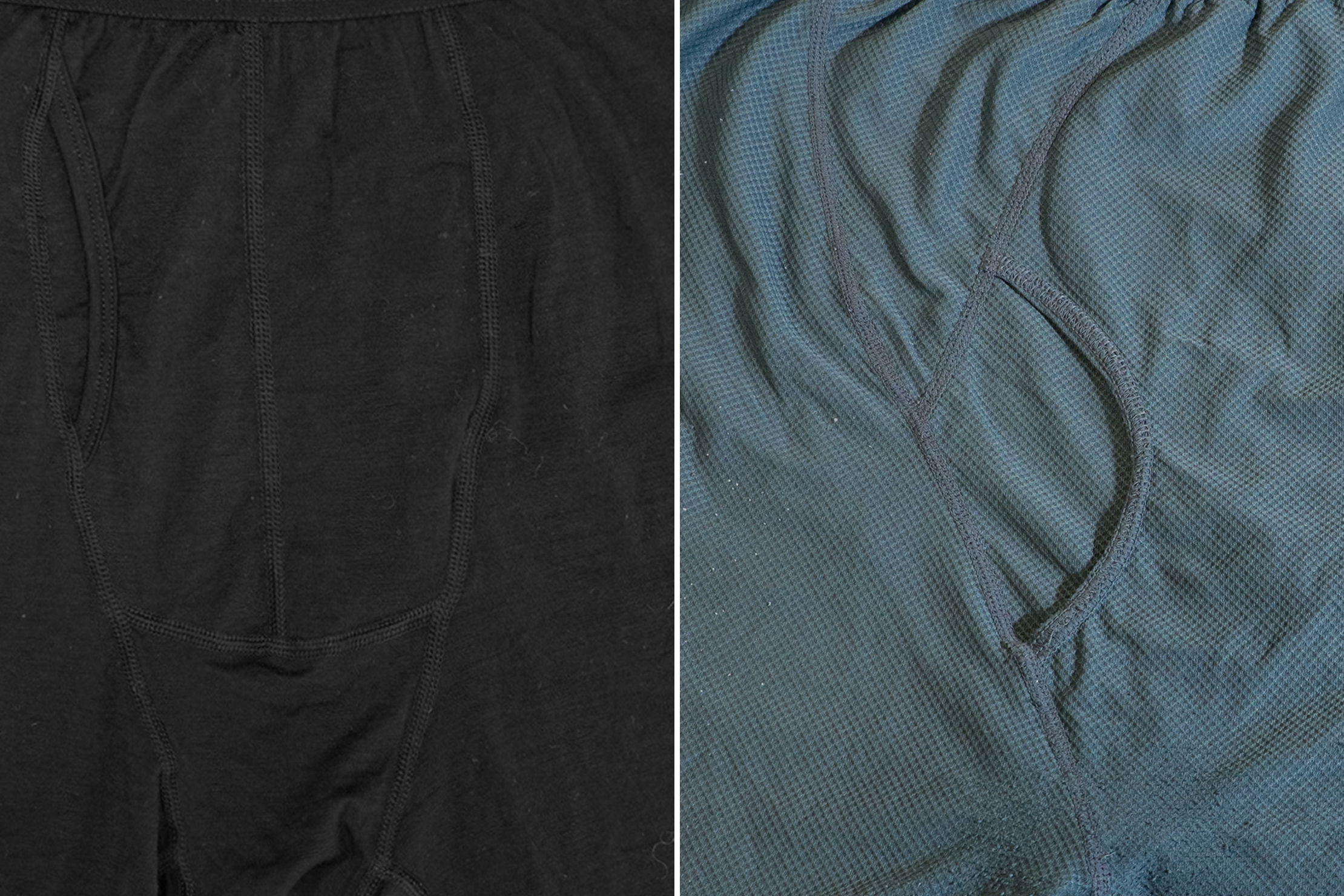 Woolx Reaction Boxer Brief Merino Wool (left) And ExOfficio Boxer Brief (Give-N-Go) (right)