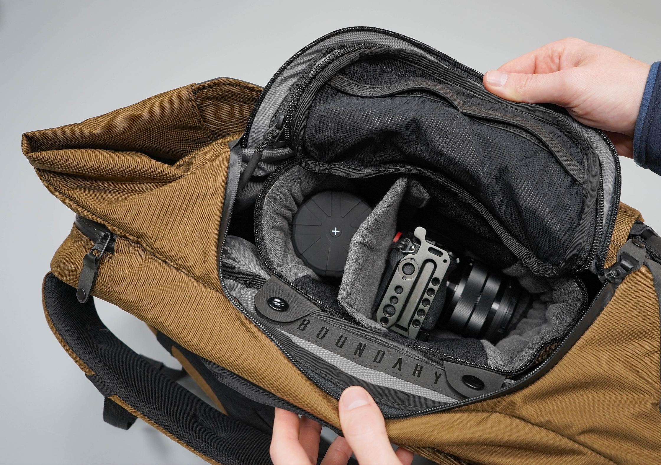 Boundary Supply Prima System Camera Cube Inside The Pack