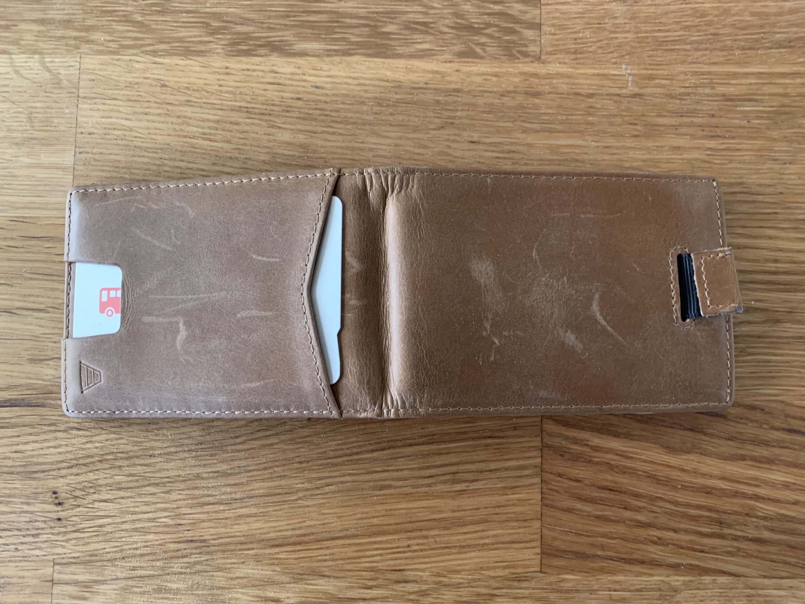 Andar The Ranger Wallet Scuffs In Leather