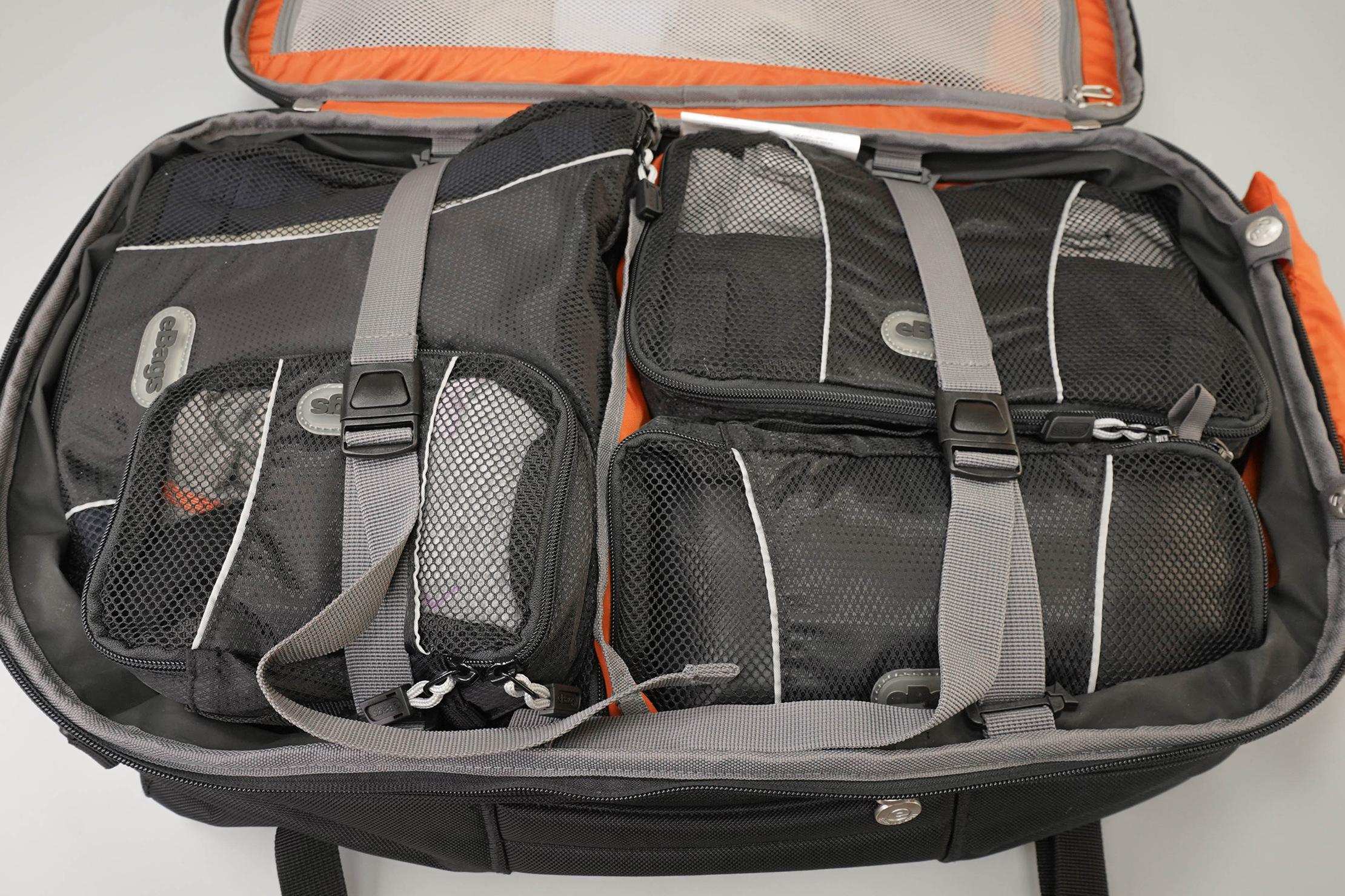 eBags TLS Mother Lode Weekender Convertible Packing Cubes