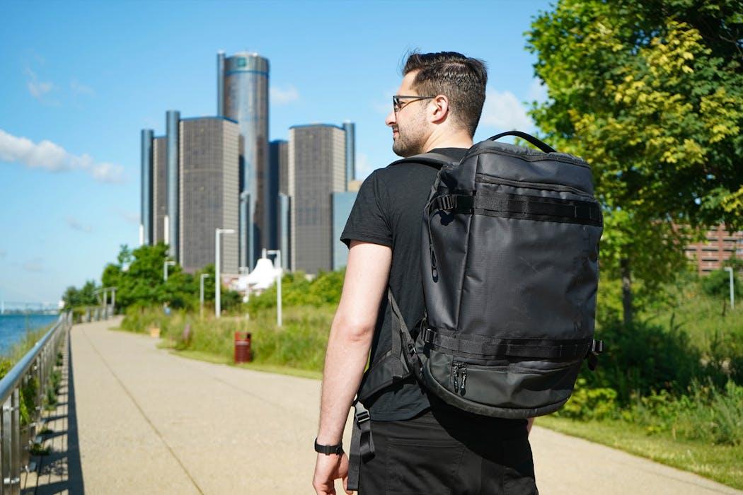 Timbuk2 Impulse Travel Backpack Duffel in Detroit