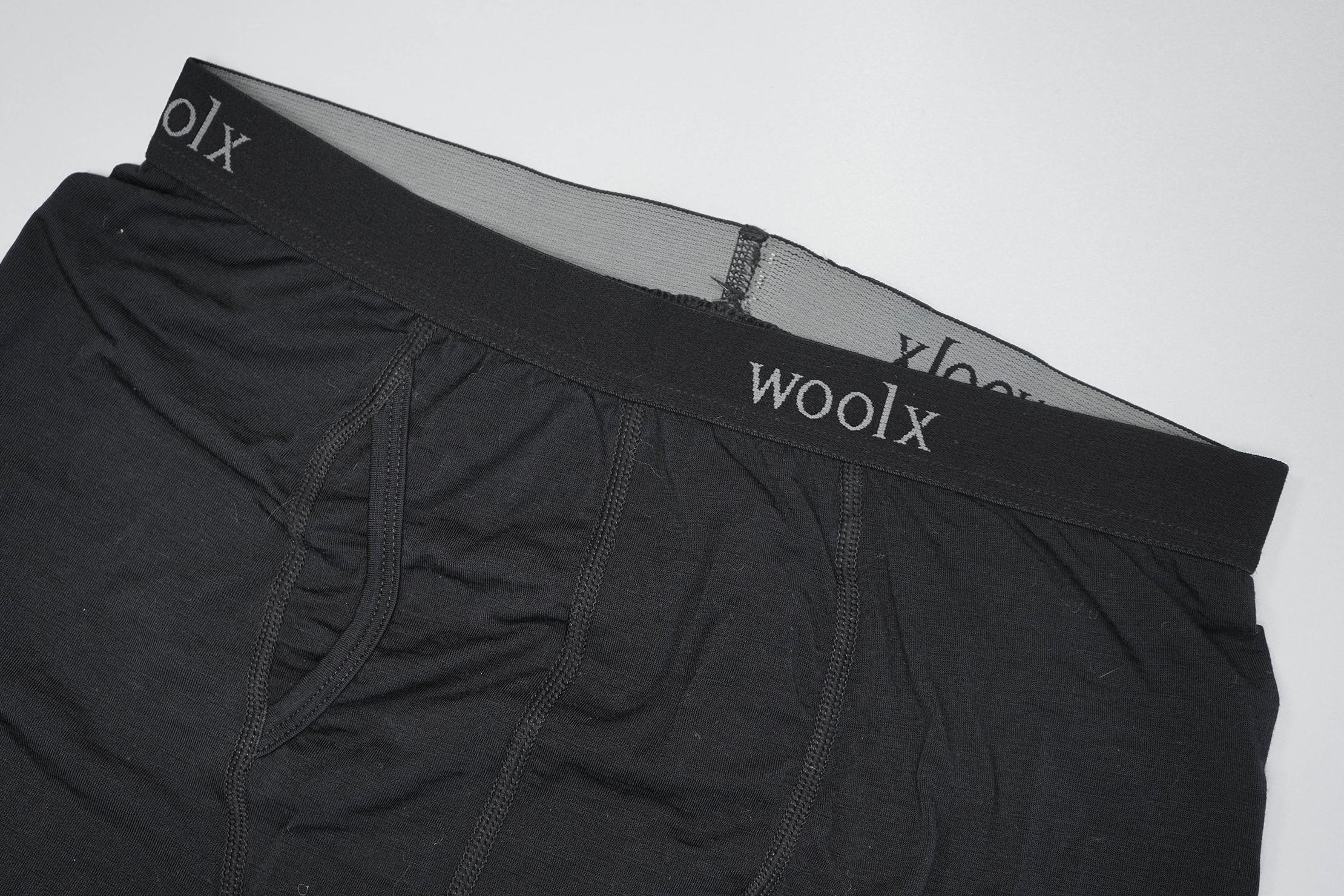 Woolx Reaction Boxer Brief Waistband