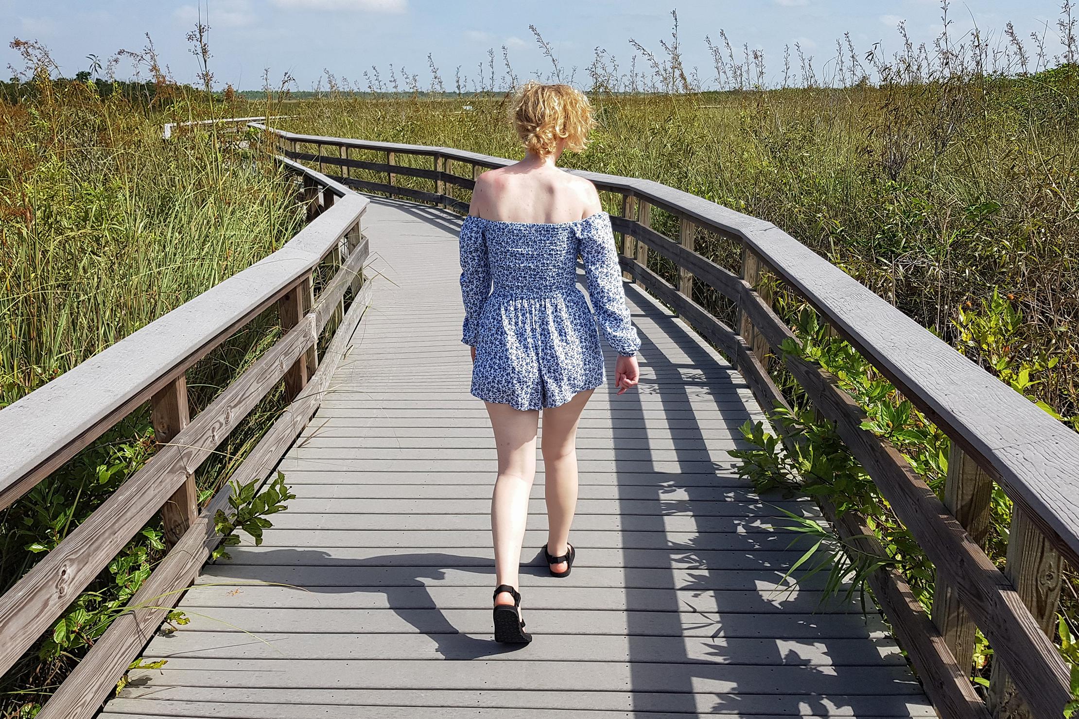 Teva Original Sandals In The Everglades Florida
