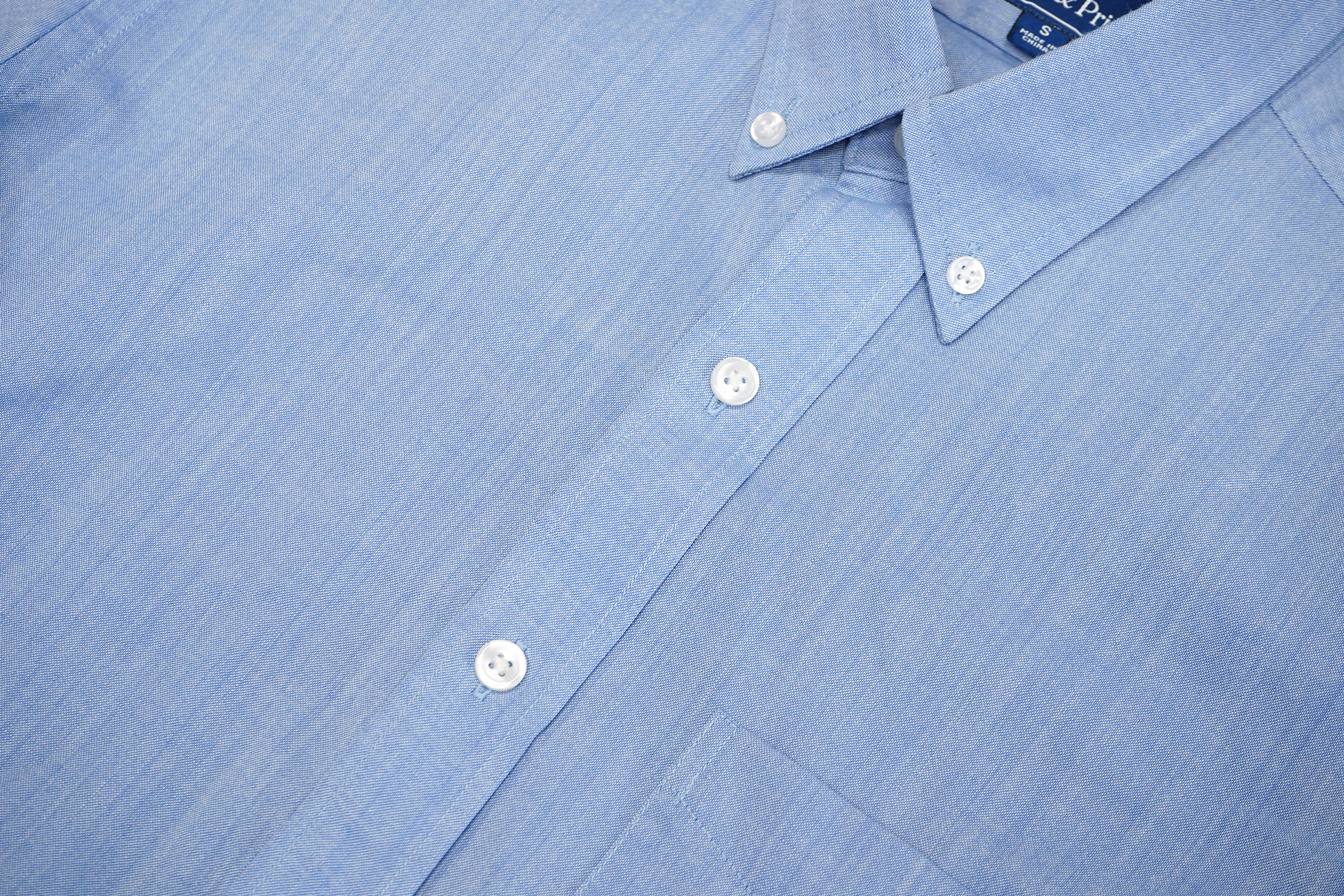 Wool & Prince Button Down Oxford Buttons