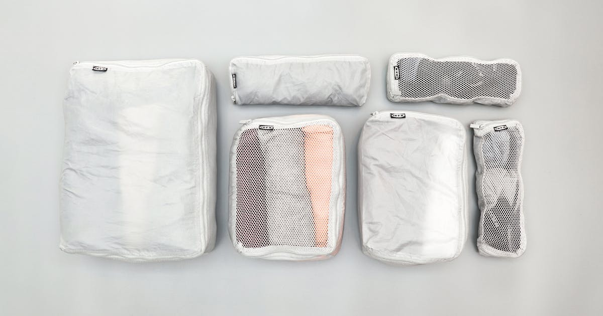 IKEA FORFINA Packing Cubes Review (budget) | Pack Hacker