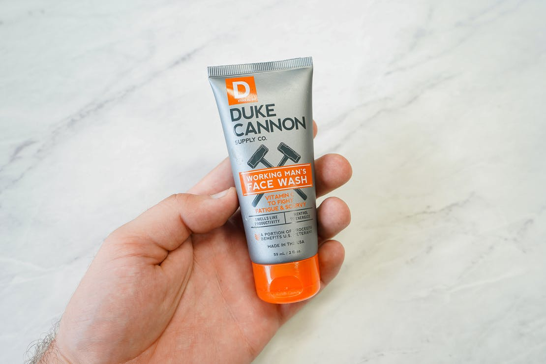 Duke Cannon Working Man's Face Wash - Travel Size