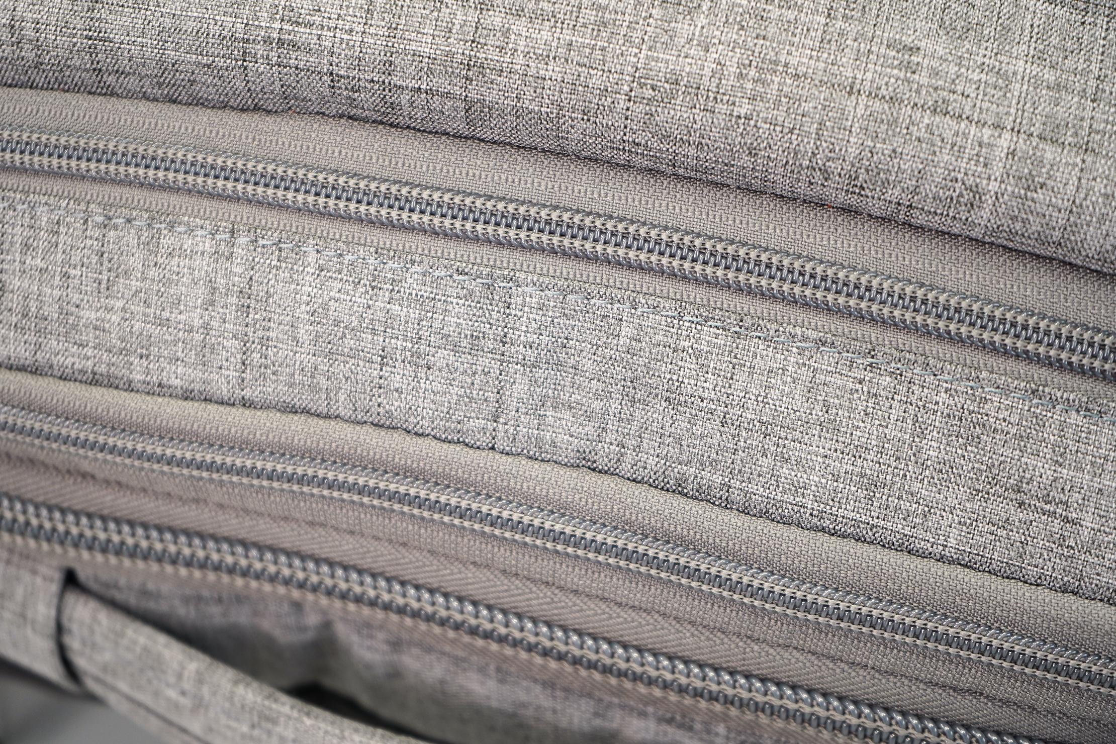 AmazonBasics Slim Travel Backpack Weekender Exposed Zipper Coil