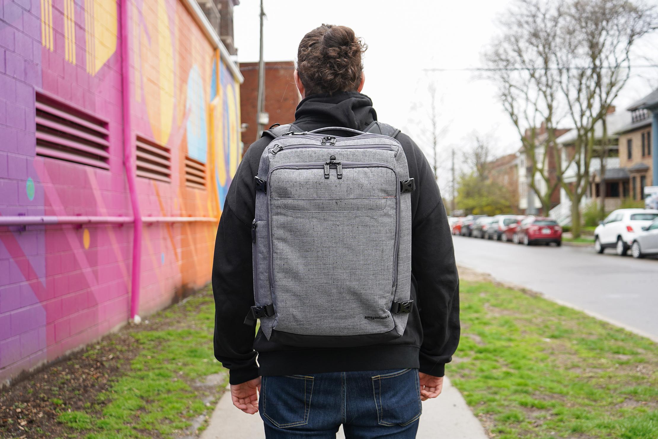 AmazonBasics Slim Travel Backpack Weekender In Detroit, Michigan