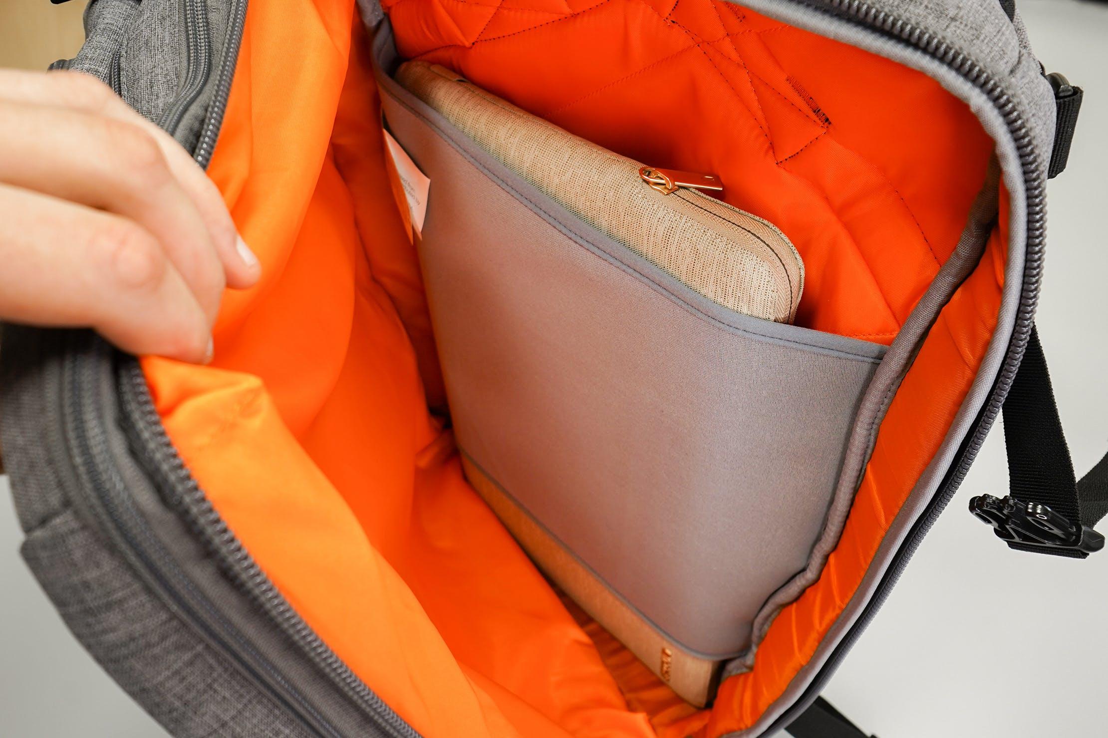 AmazonBasics Slim Travel Backpack Weekender Laptop Compartment