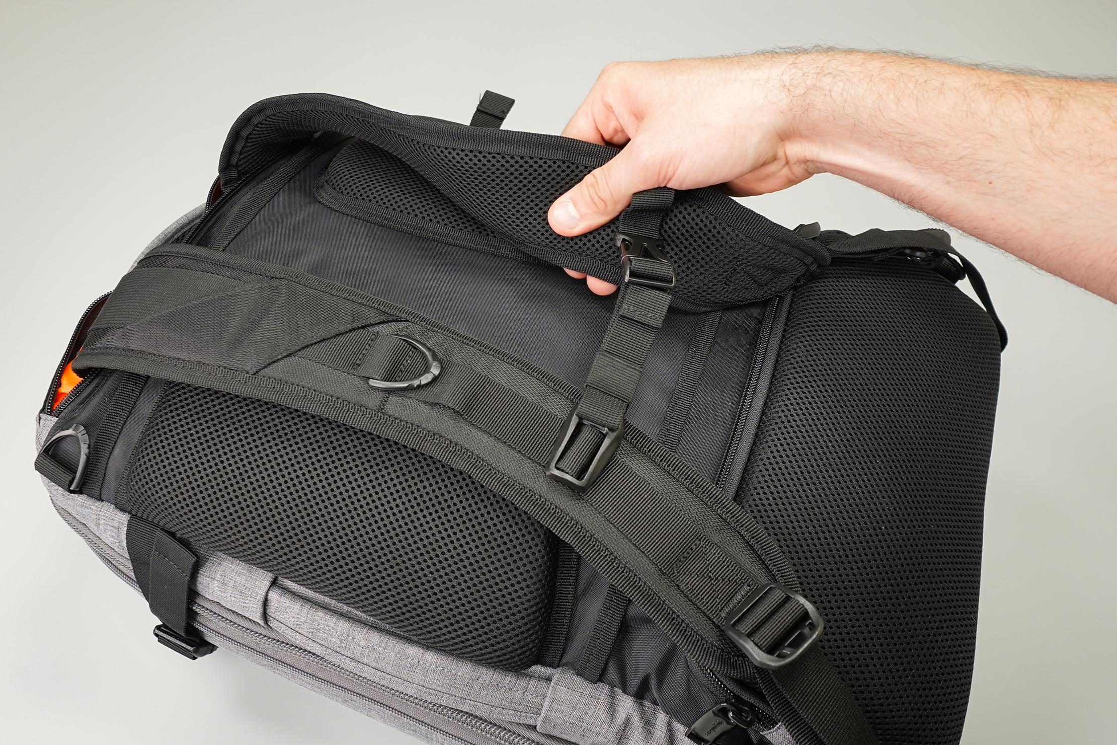 AmazonBasics Slim Travel Backpack Weekender Shoulder Straps