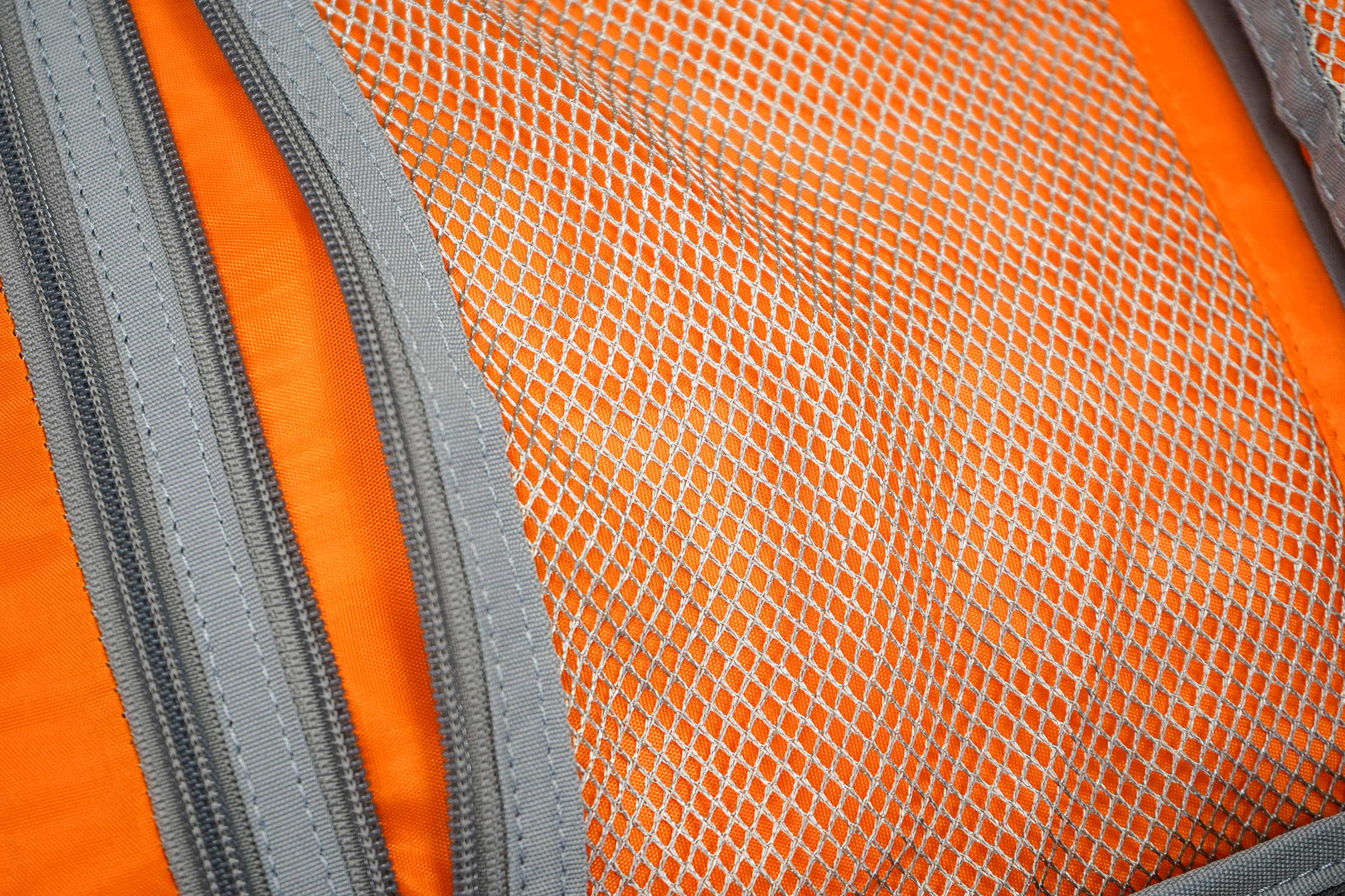 AmazonBasics Slim Travel Backpack Weekender Silver Mesh