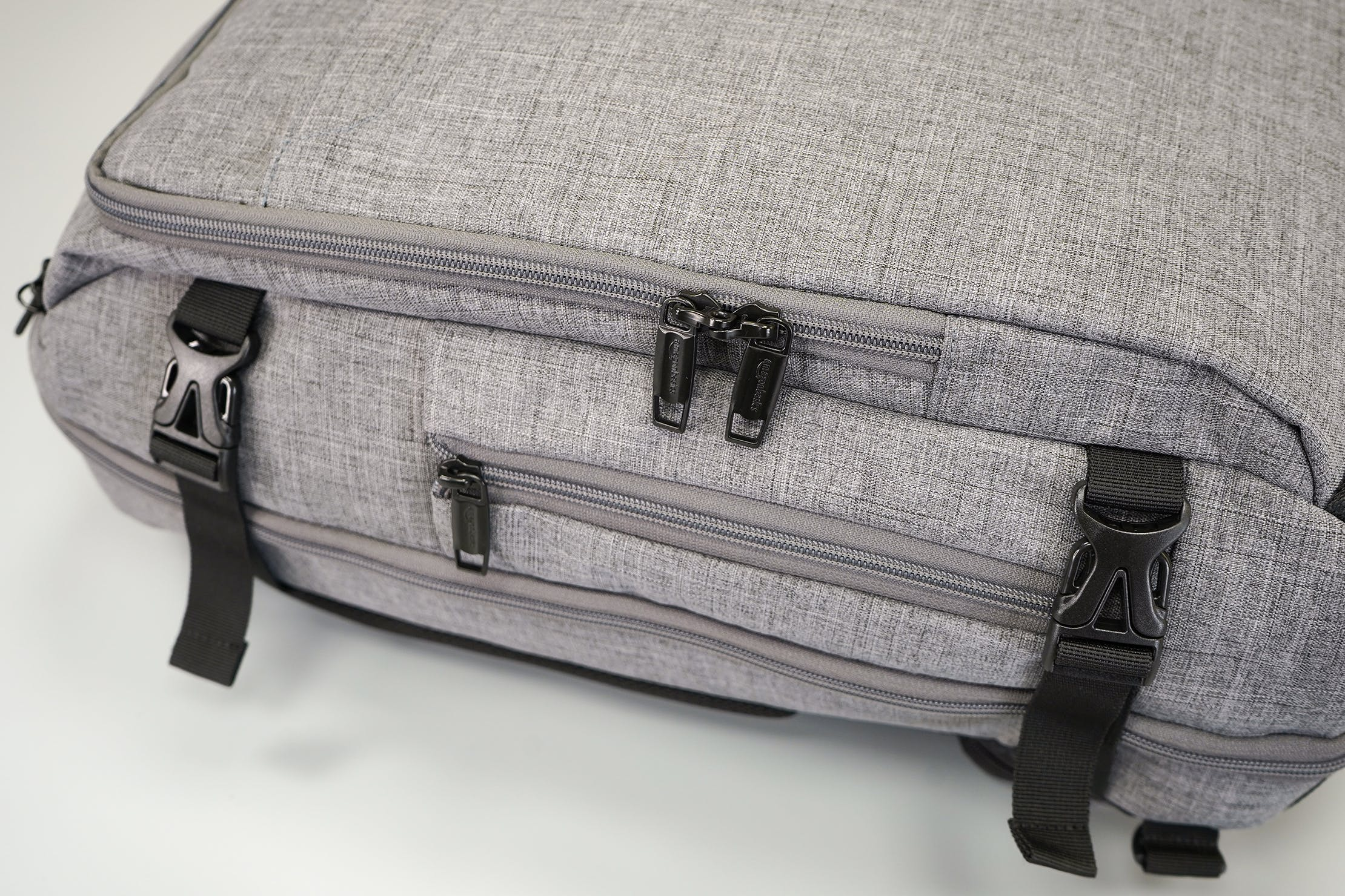 AmazonBasics Slim Travel Backpack Weekender YKK Zips & Duraflex Buckles