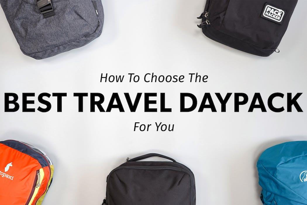 Best Travel Daypack Pack Hacker