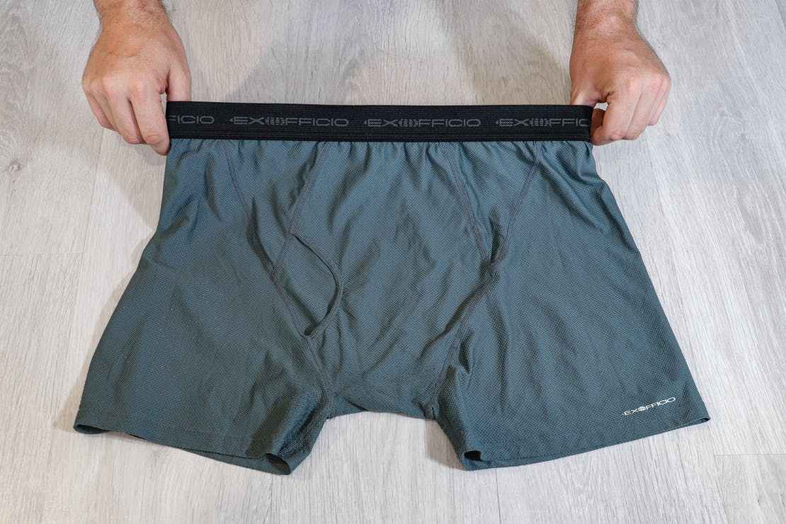 ExOfficio Boxer Brief (Give-N-Go) Usage Photo