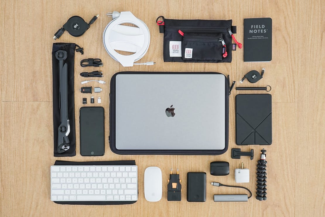 Digital Nomad Packing List Productivity and Tech
