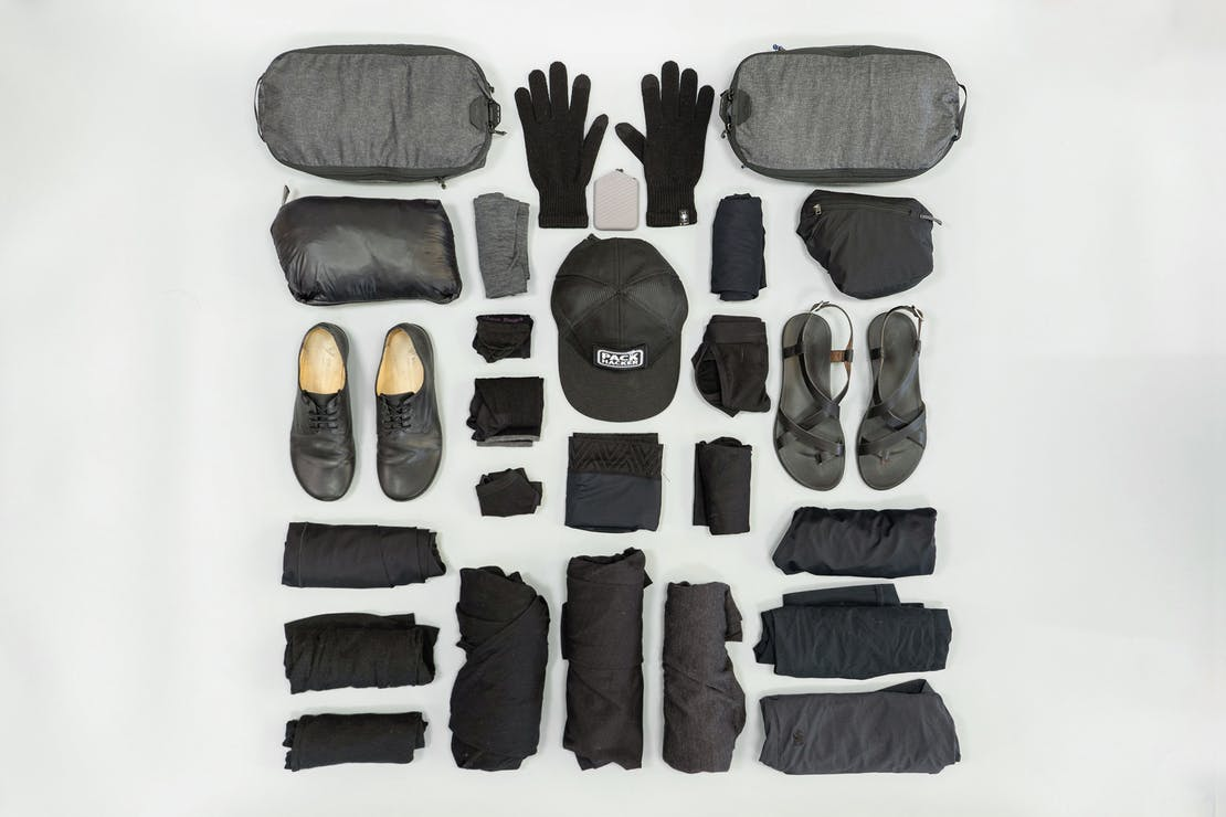 Digital Nomad Packing List Women's Focused Clothing and Accessories