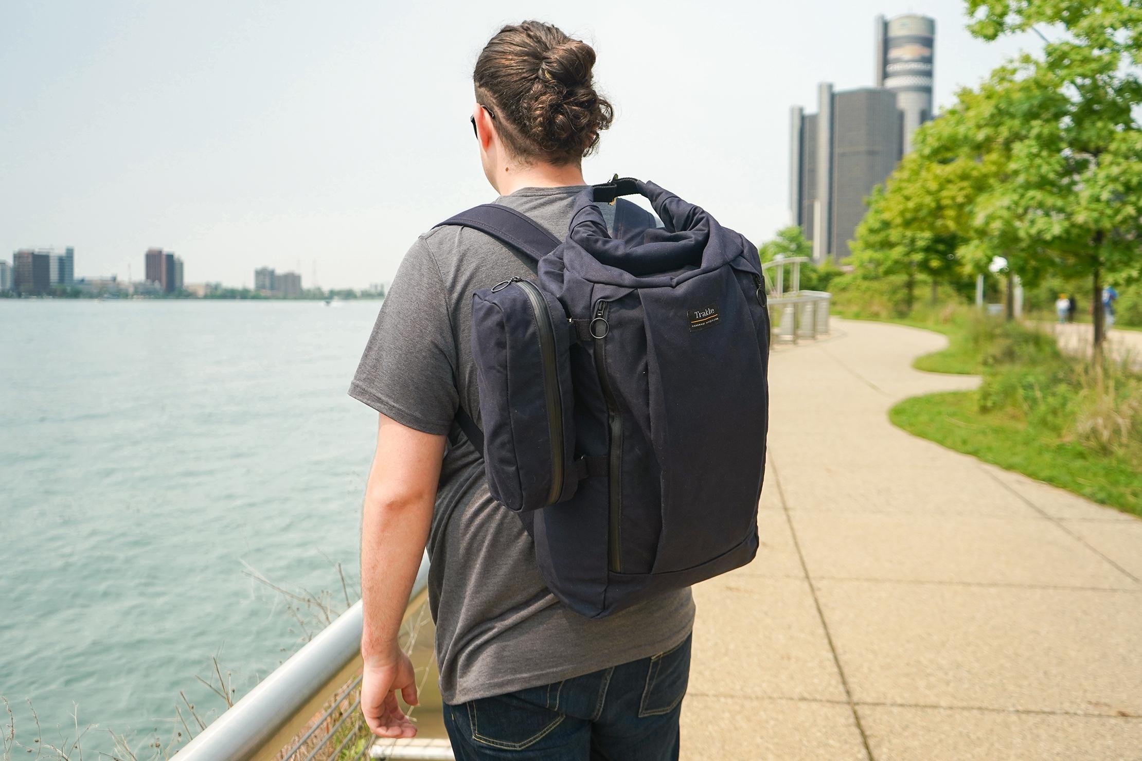 Trakke Laggan Travel Accessory Pouch 2019 Attached To The Trakke Vorlich In Detroit, Michigan