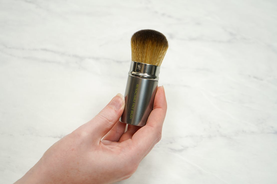 EcoTools Retractable Kabuki Travel Foundation Brush