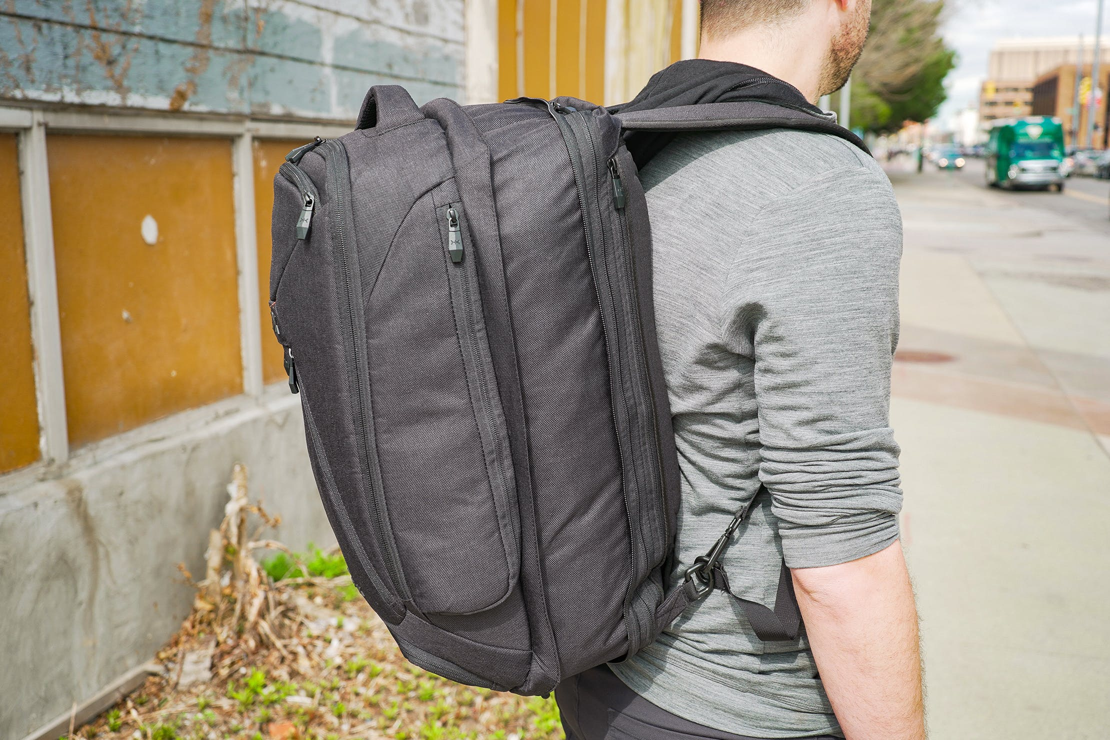 Knack Large Expandable Pack In Its Expanded State