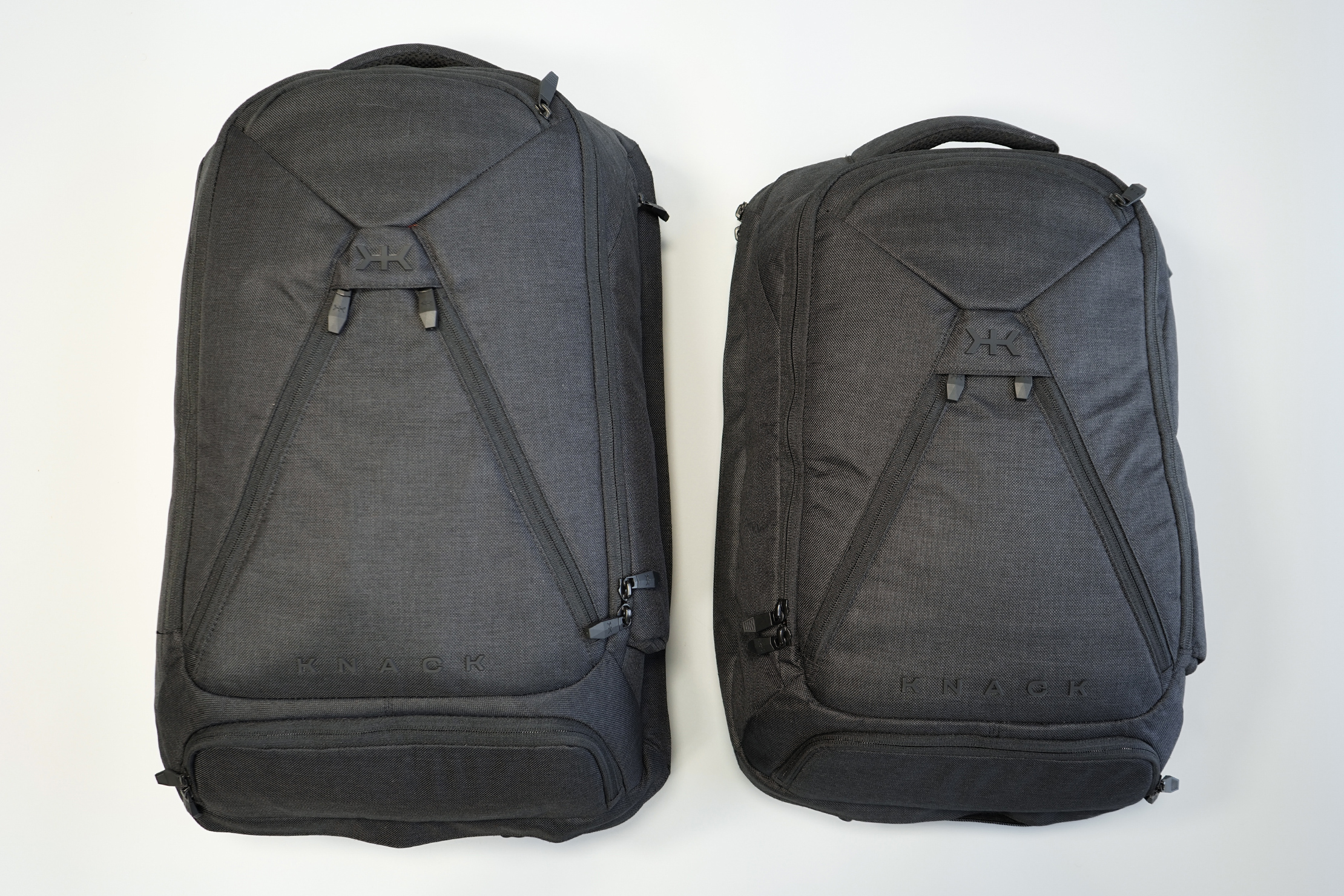 Knack Large Expandable Pack (Left) & Medium Expandable Pack (Right)