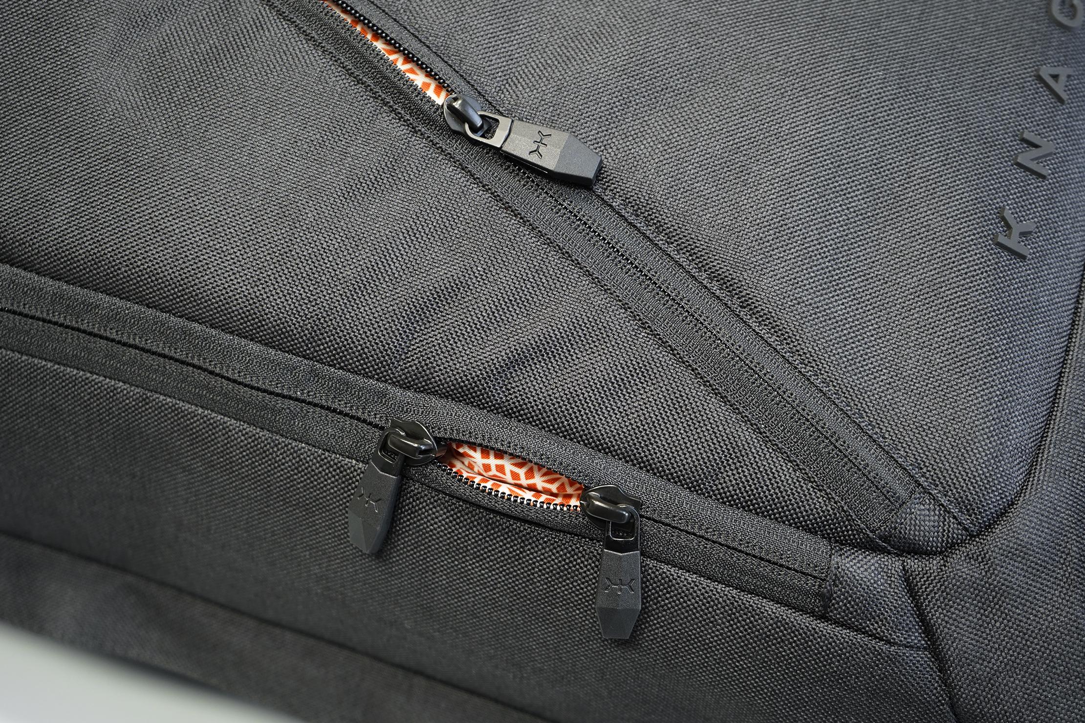 Knack Large Expandable Pack YKK Zippers