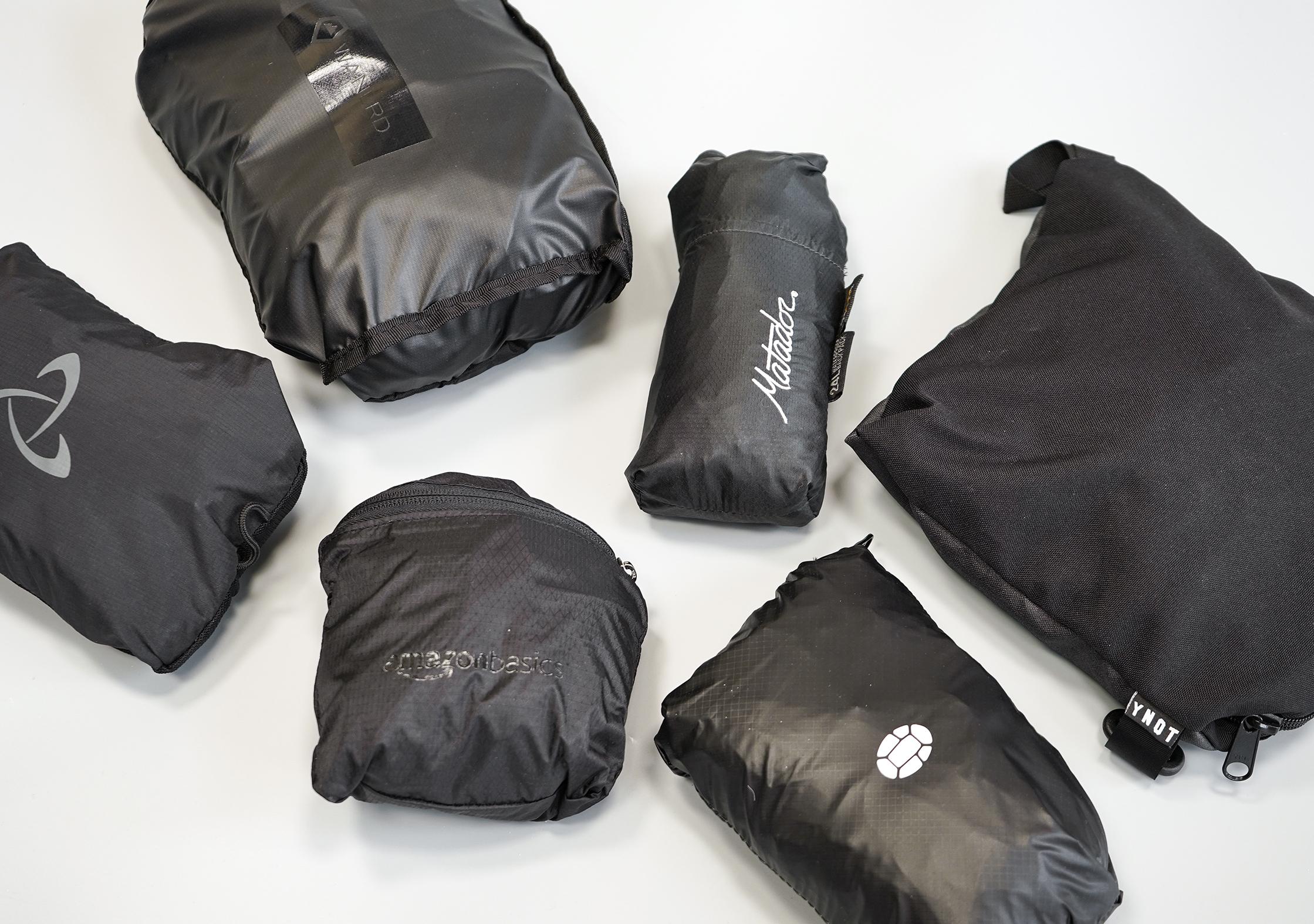 Packable Daypack Size Comparison